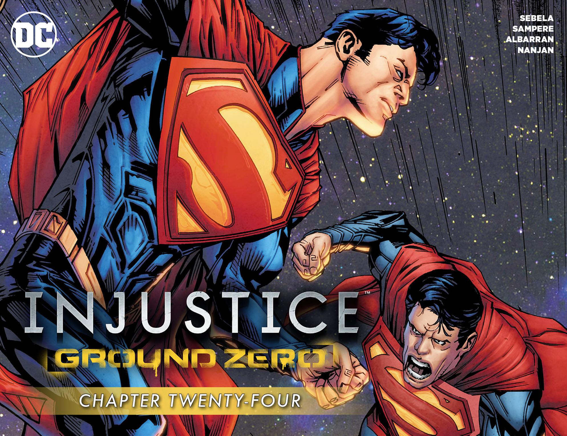 Read online Injustice: Ground Zero comic -  Issue #24 - 1