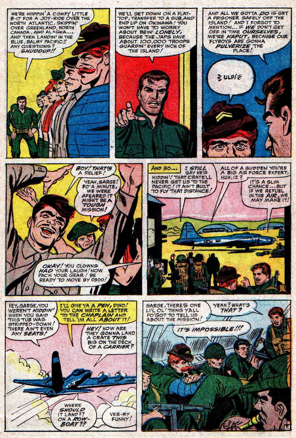 Read online Sgt. Fury comic -  Issue #10 - 11
