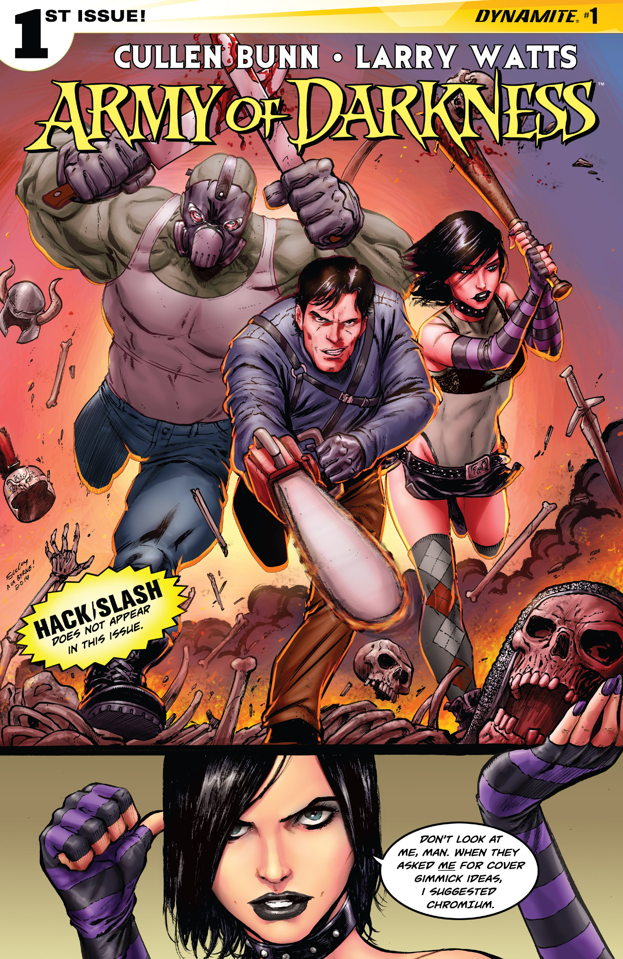 Read online Army of Darkness (2014) comic -  Issue #1 - 2