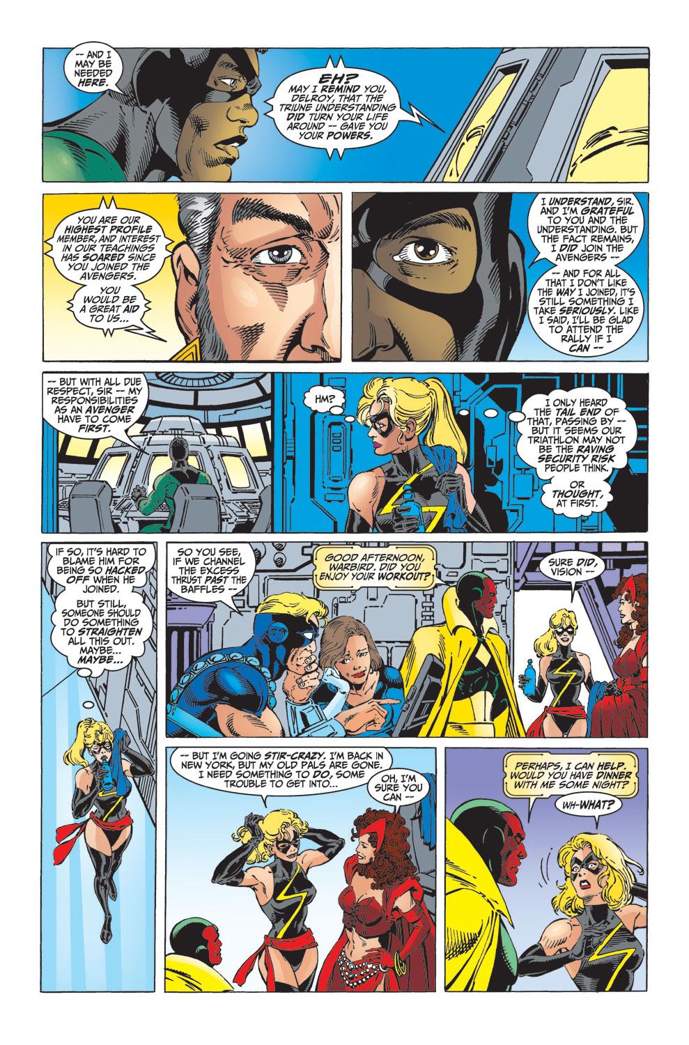 Read online Avengers (1998) comic -  Issue #32 - 6