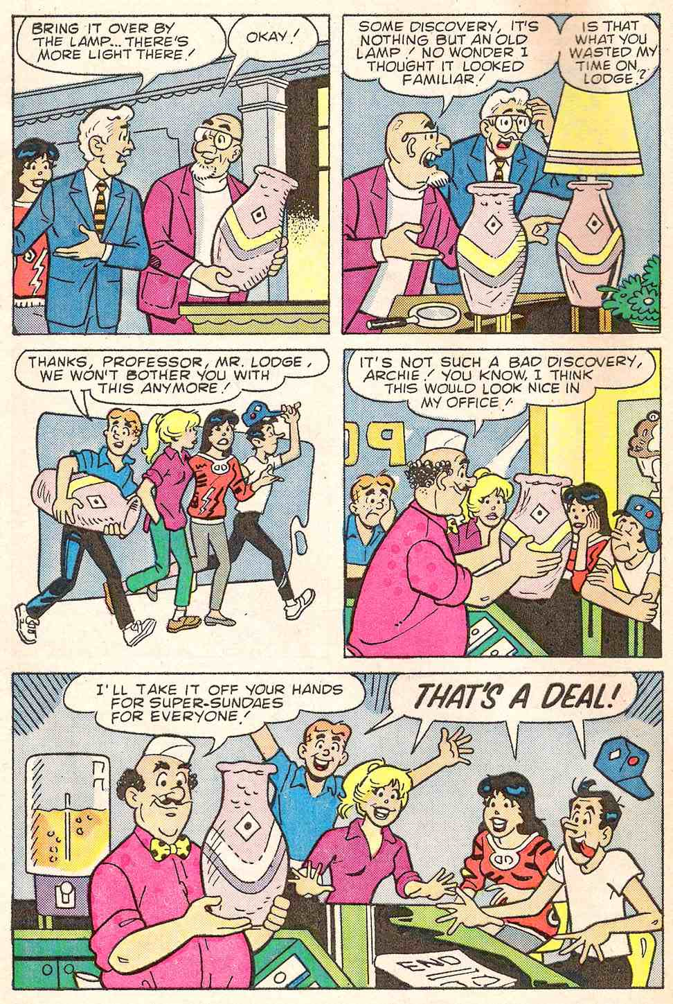 Read online Archie's Girls Betty and Veronica comic -  Issue #344 - 8