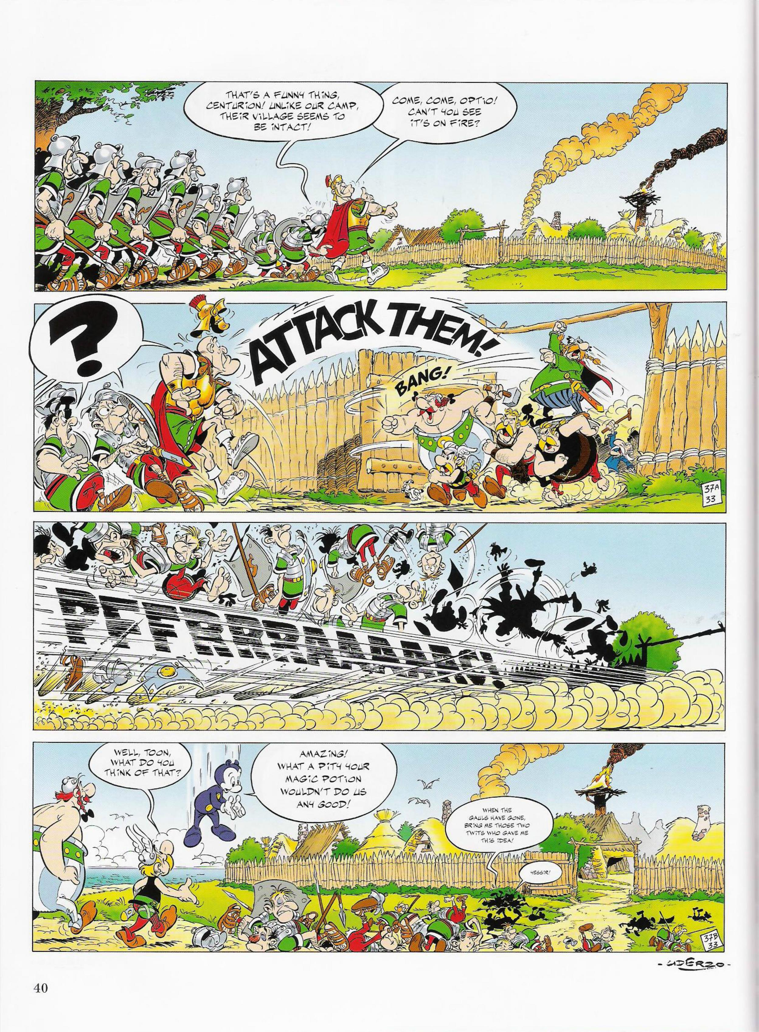 Read online Asterix comic -  Issue #33 - 40