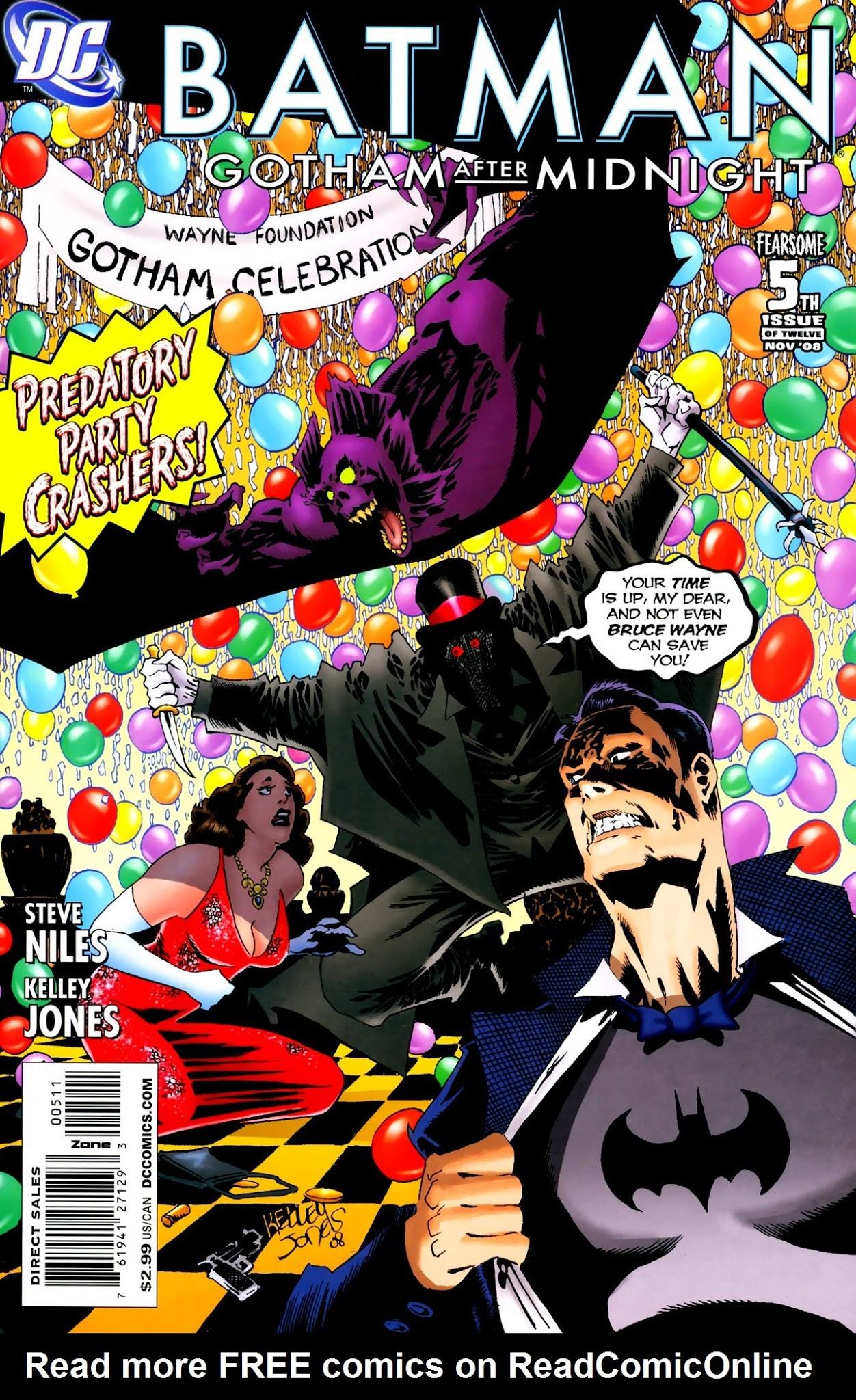 Batman: Gotham After Midnight 5 Page 1