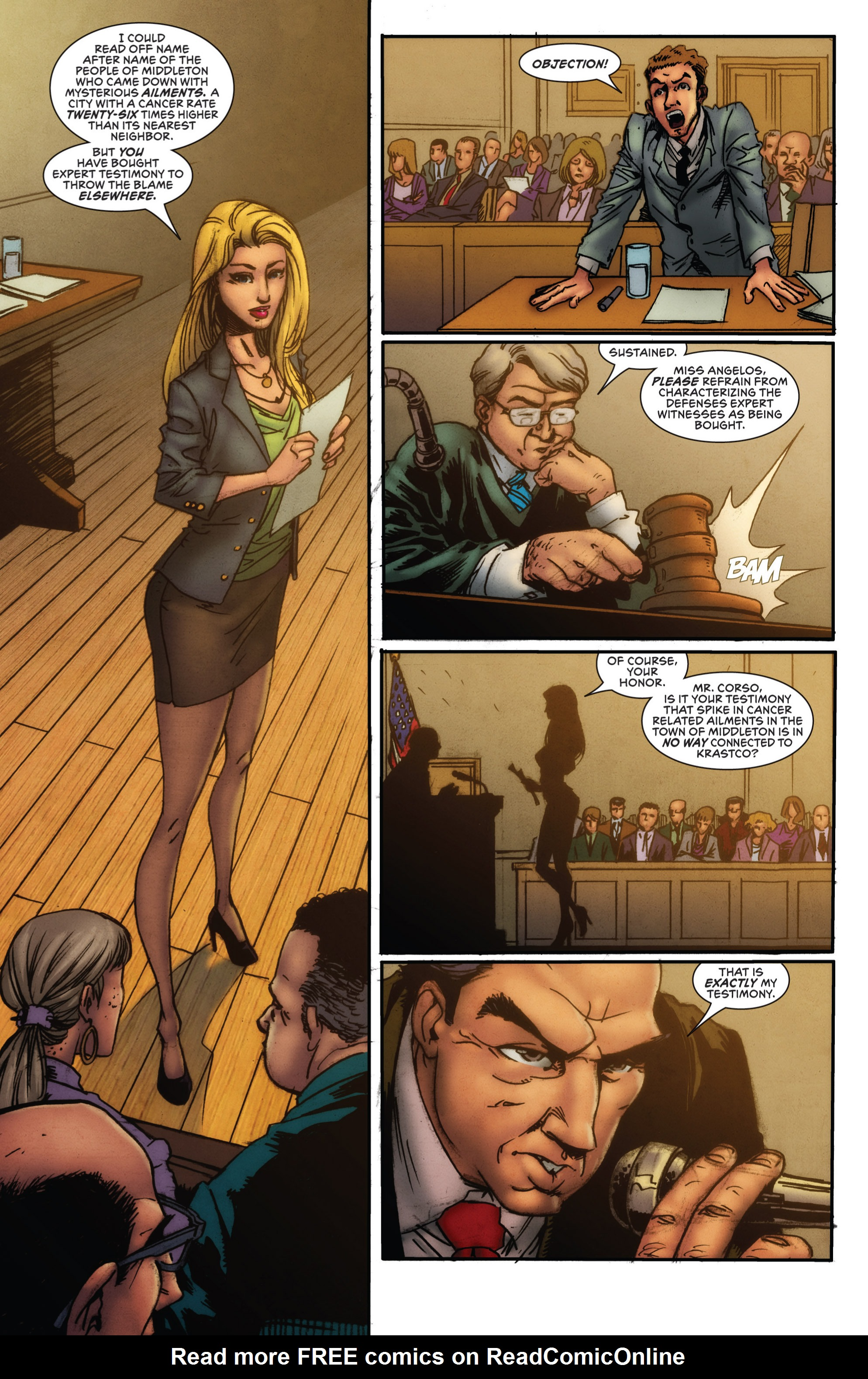 Read online Grimm Fairy Tales presents Grimm Universe comic -  Issue # TPB - 7