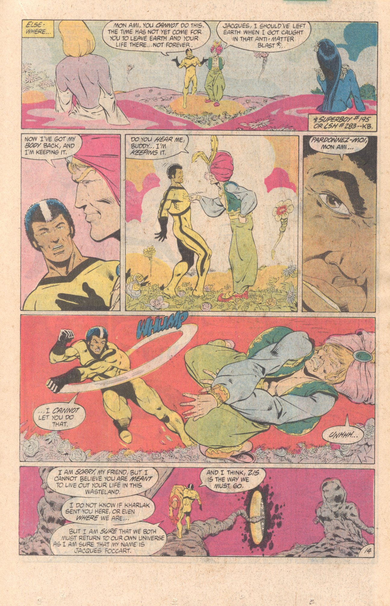 Legion of Super-Heroes (1980) 299 Page 14