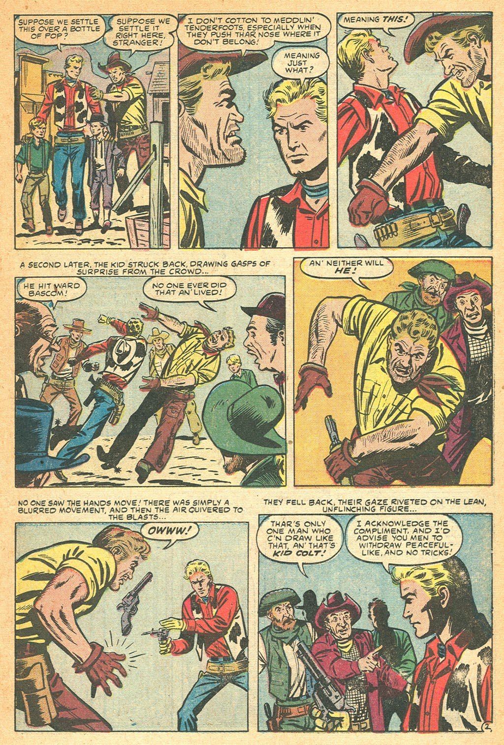 Kid Colt Outlaw issue 53 - Page 11