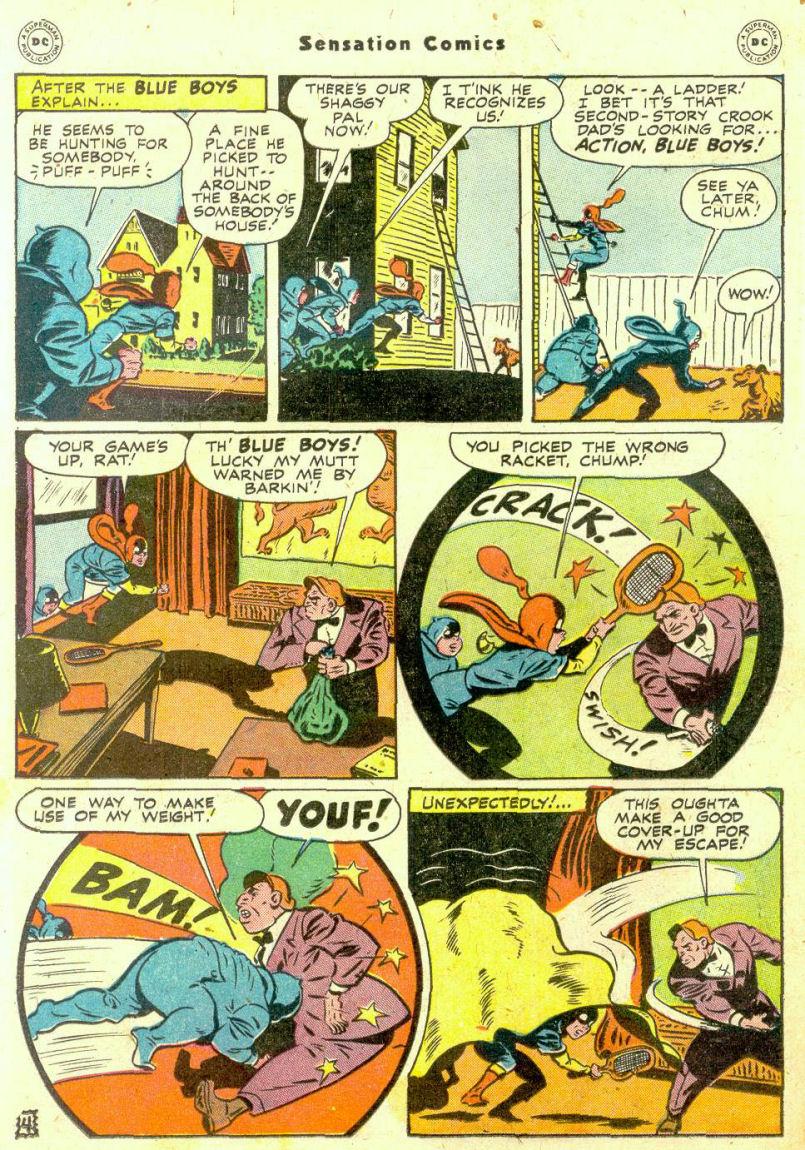 Read online Sensation (Mystery) Comics comic -  Issue #74 - 20
