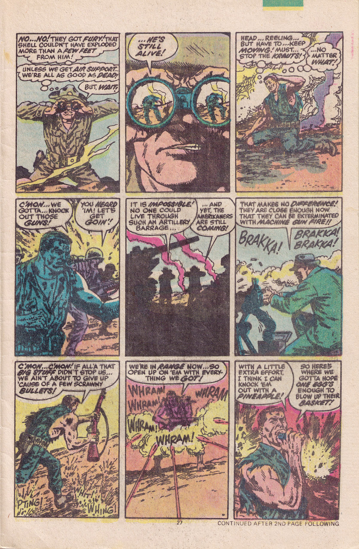 Read online Sgt. Fury comic -  Issue #158 - 29