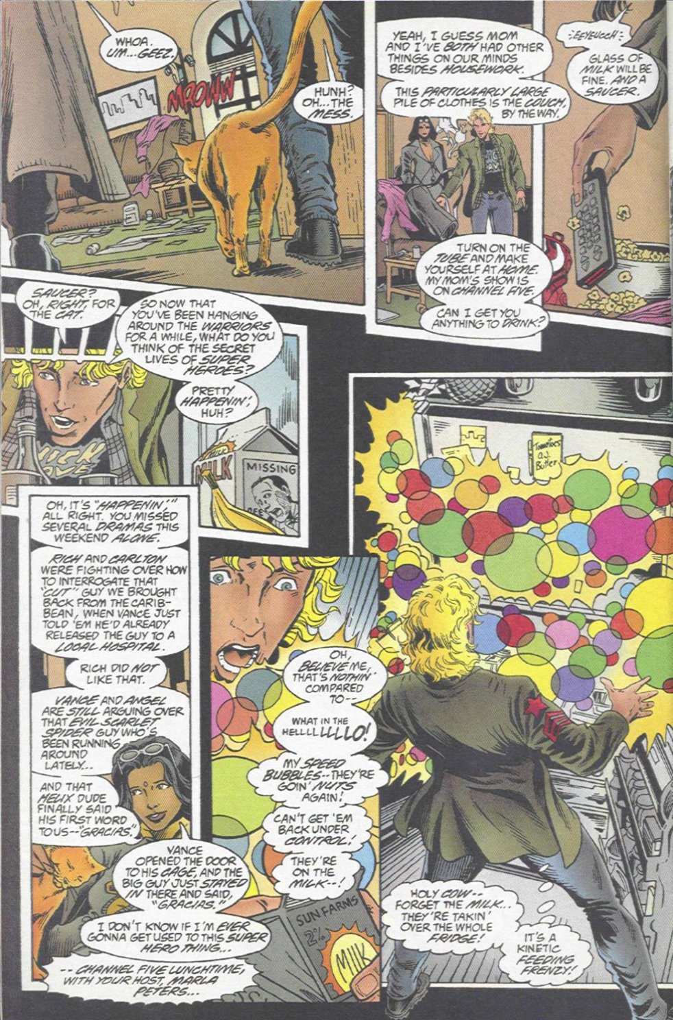 The New Warriors Issue #67 #71 - English 18