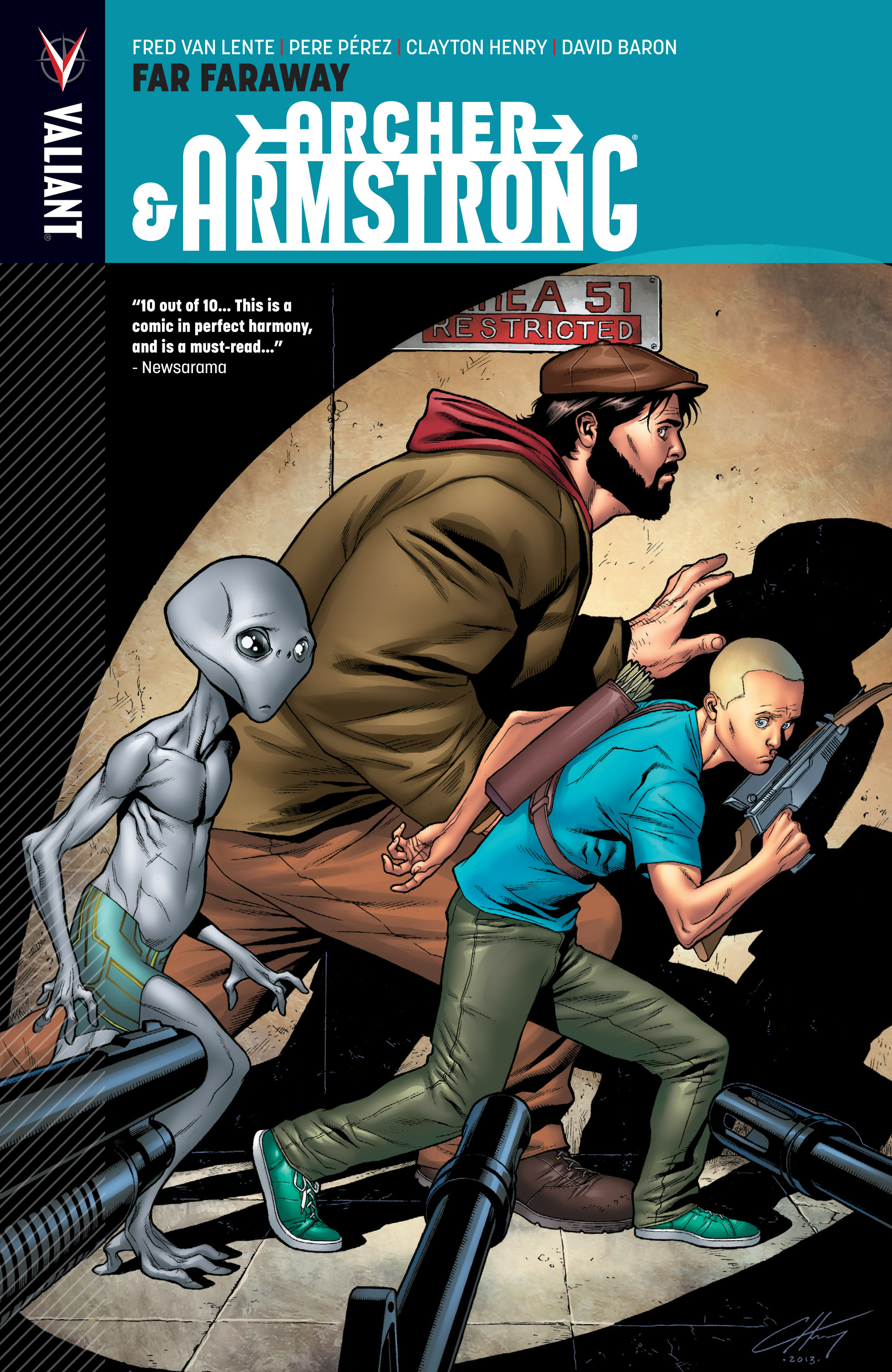 Read online Archer and Armstrong comic -  Issue #Archer and Armstrong _TPB 3 - 1