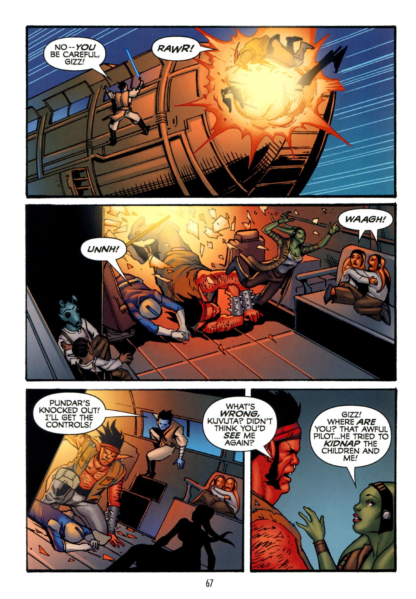 Read online Star Wars: The Clone Wars - Strange Allies comic -  Issue # Full - 68
