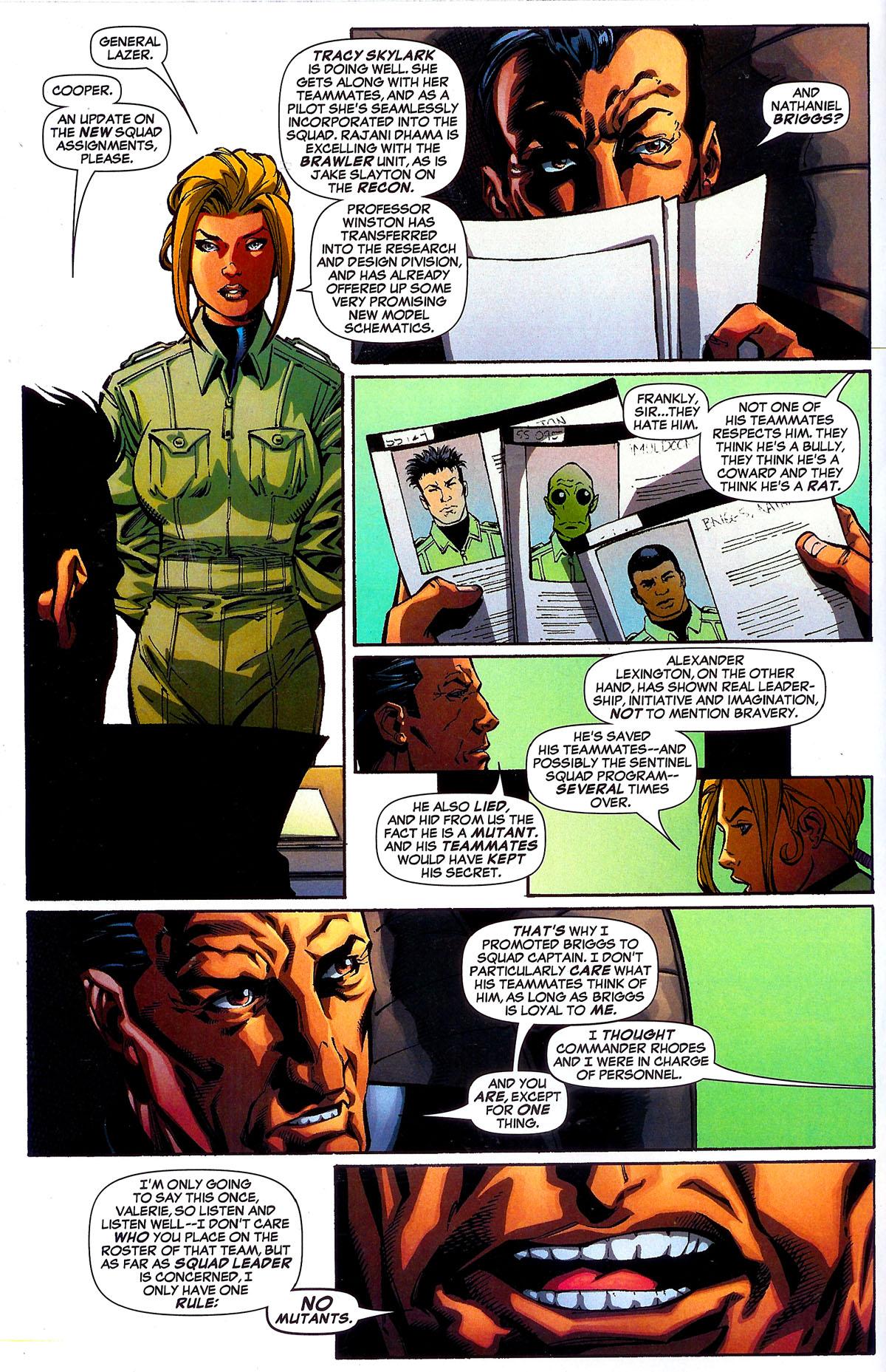 Read online Sentinel Squad O*N*E comic -  Issue #5 - 8