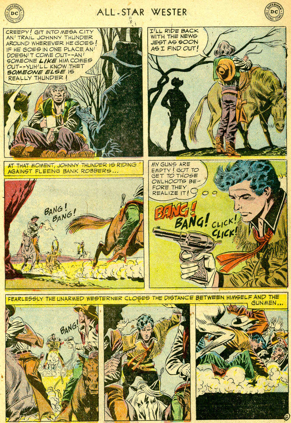 Read online All-Star Western (1951) comic -  Issue #68 - 29
