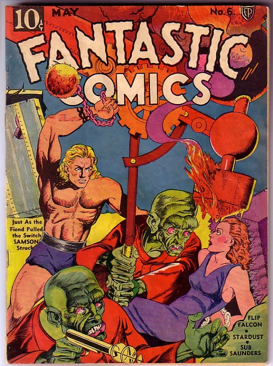 Read online Fantastic Comics comic -  Issue #6 - 1