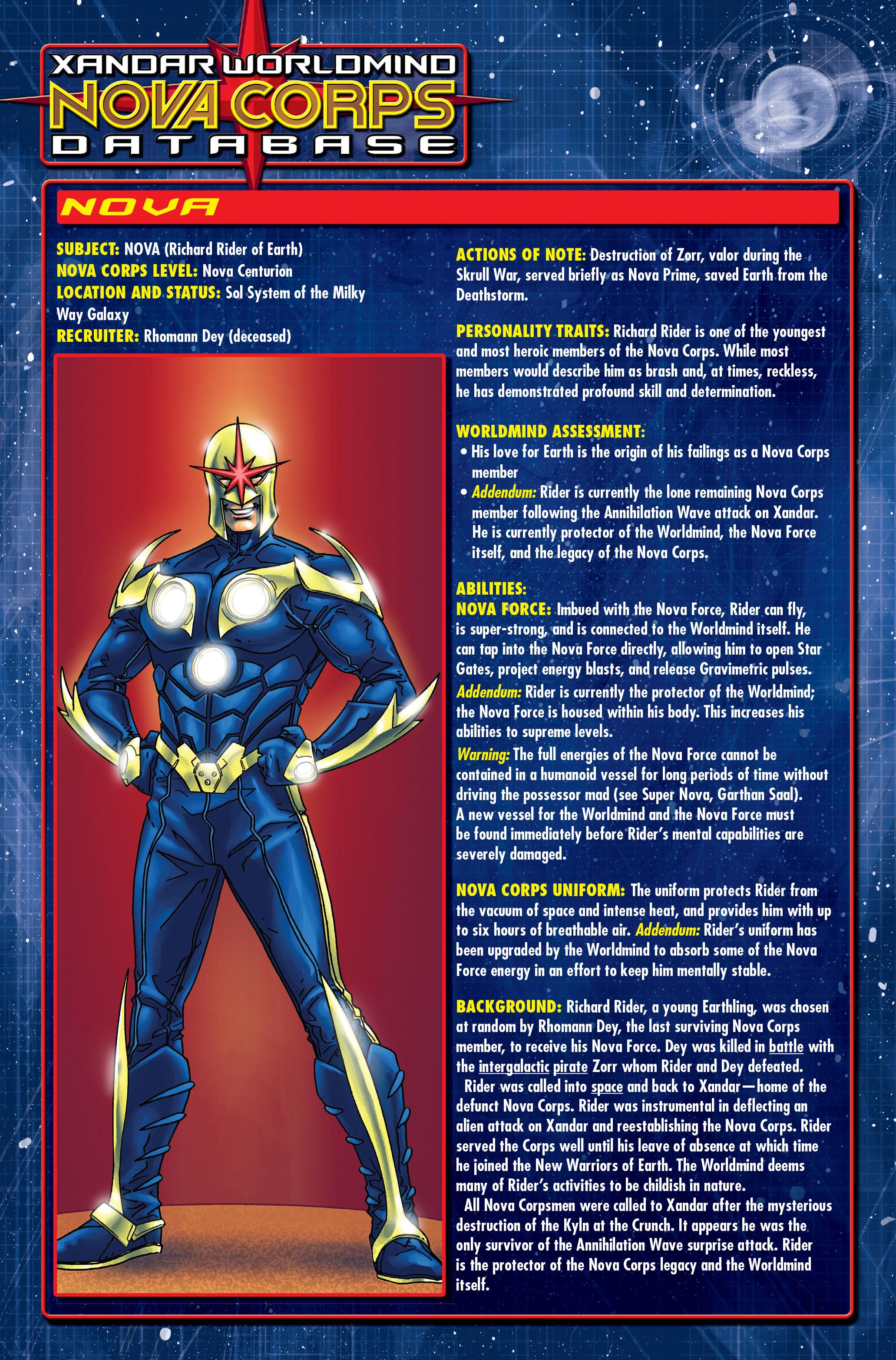 Read online Annihilation: Nova comic -  Issue #1 - 26