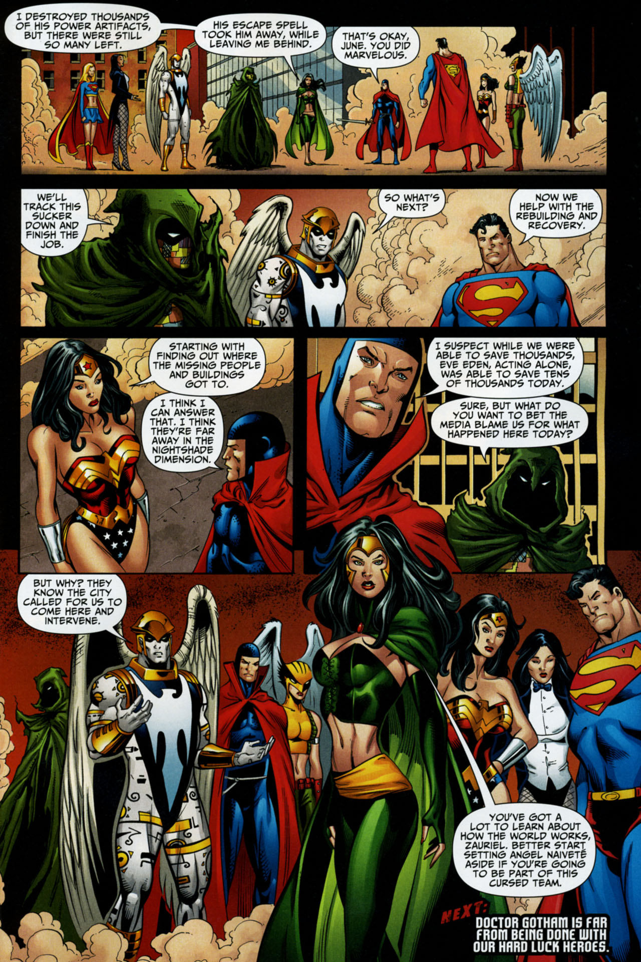 Read online Shadowpact comic -  Issue #16 - 22