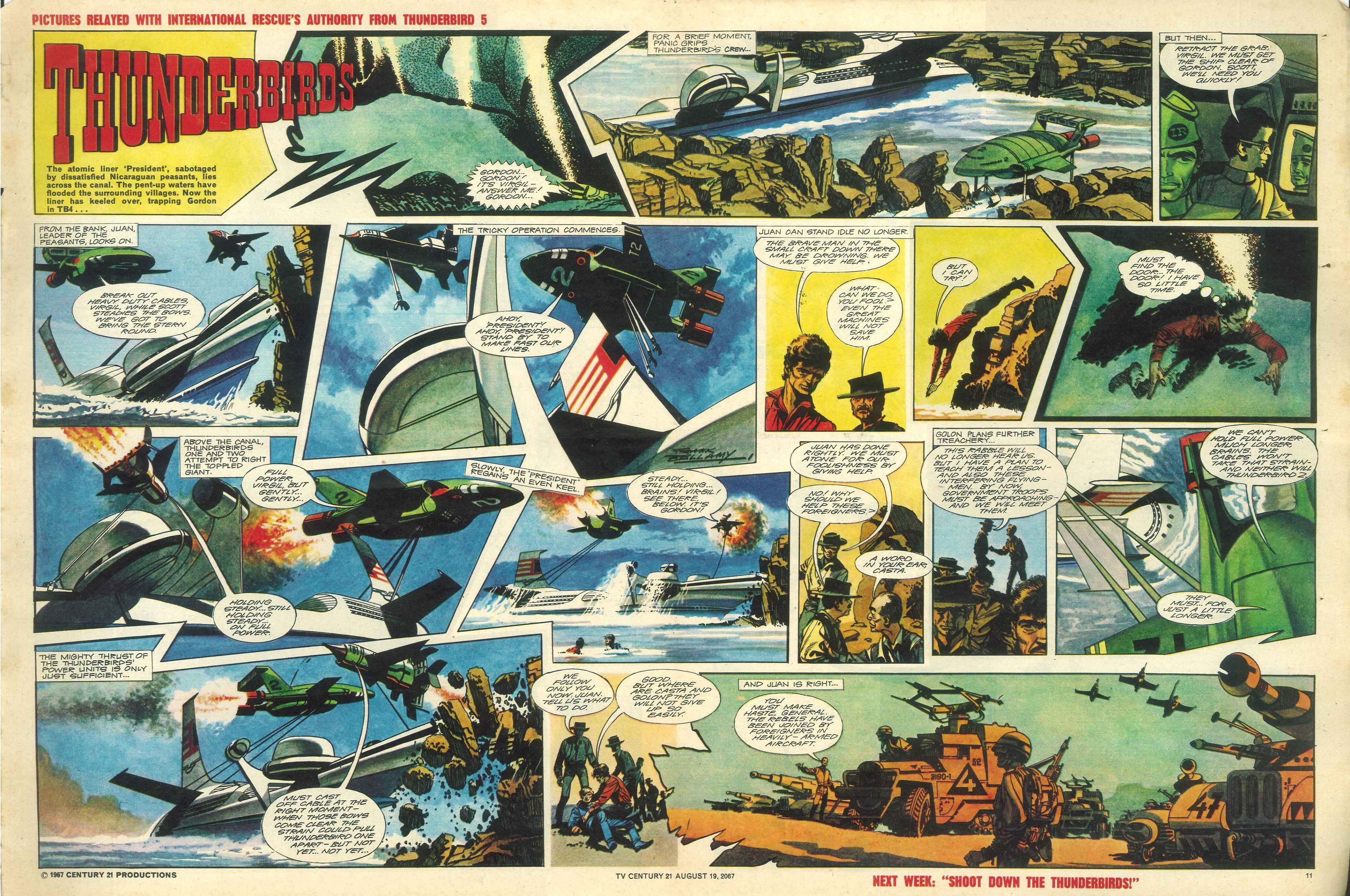 Read online TV Century 21 (TV 21) comic -  Issue #135 - 10