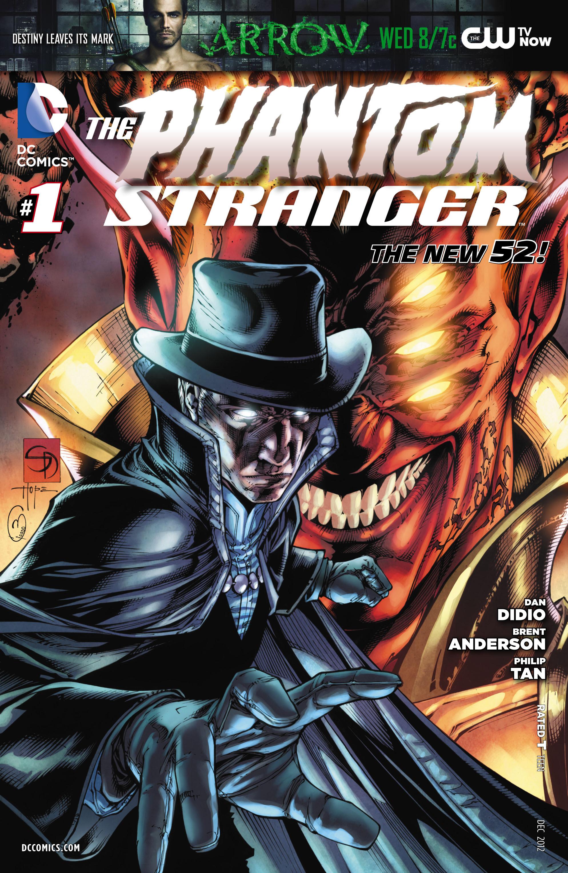 Read online Trinity of Sin: The Phantom Stranger comic -  Issue #1 - 22