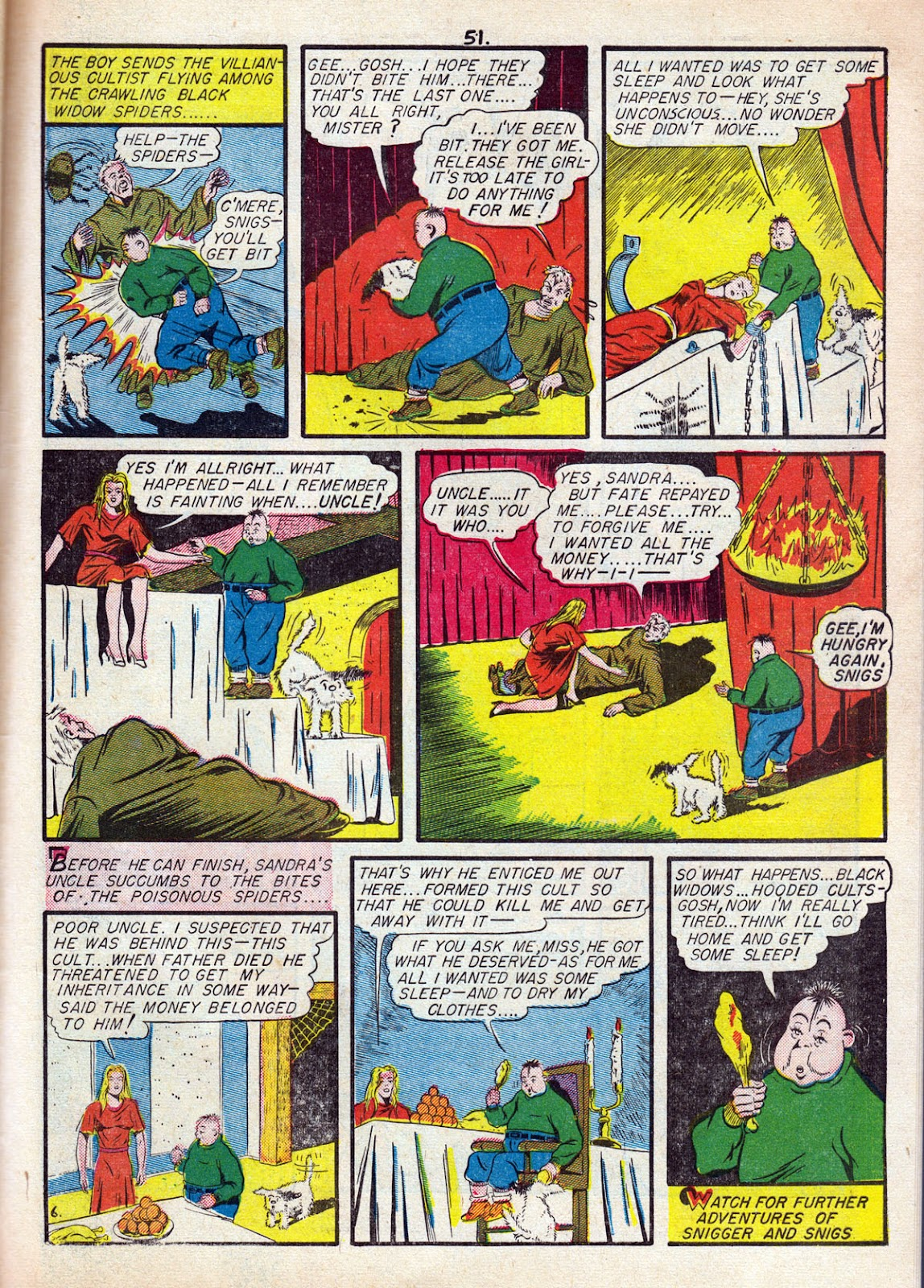 Read online Comedy Comics (1942) comic -  Issue #11 - 53