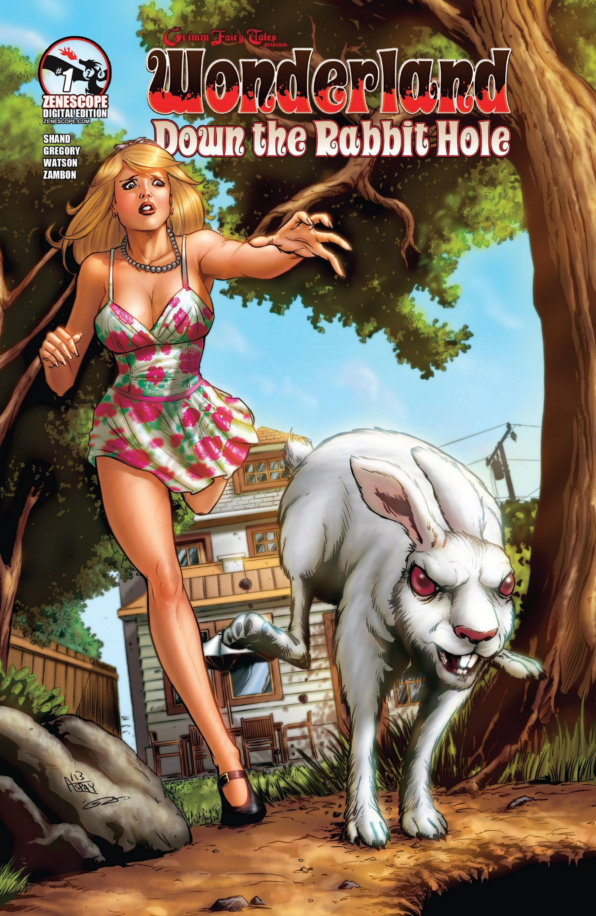 Grimm Fairy Tales presents Wonderland: Down the Rabbit Hole 1 Page 1