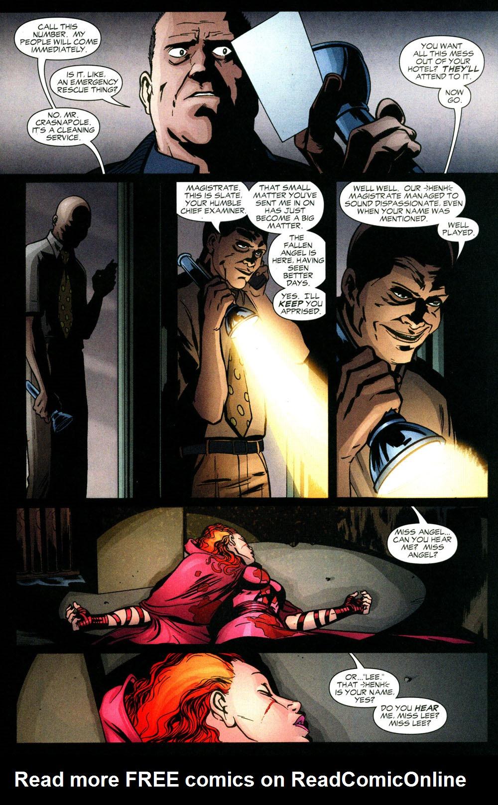 Read online Fallen Angel (2003) comic -  Issue #3 - 4