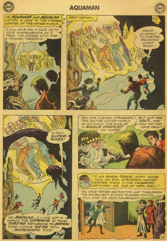 Read online Aquaman (1962) comic -  Issue #5 - 14