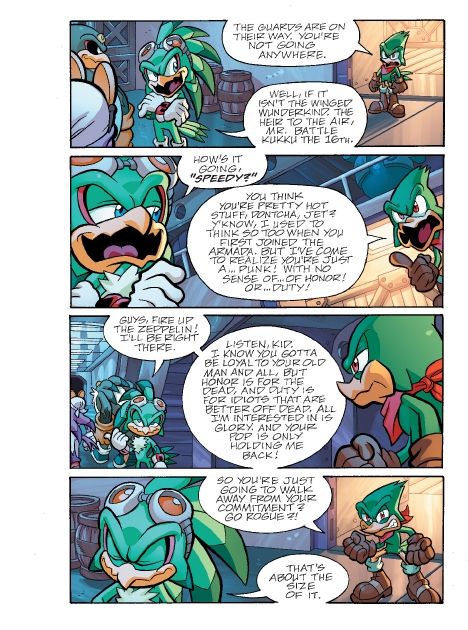 Read online Sonic Comics Spectacular: Speed of Sound comic -  Issue # Full - 159