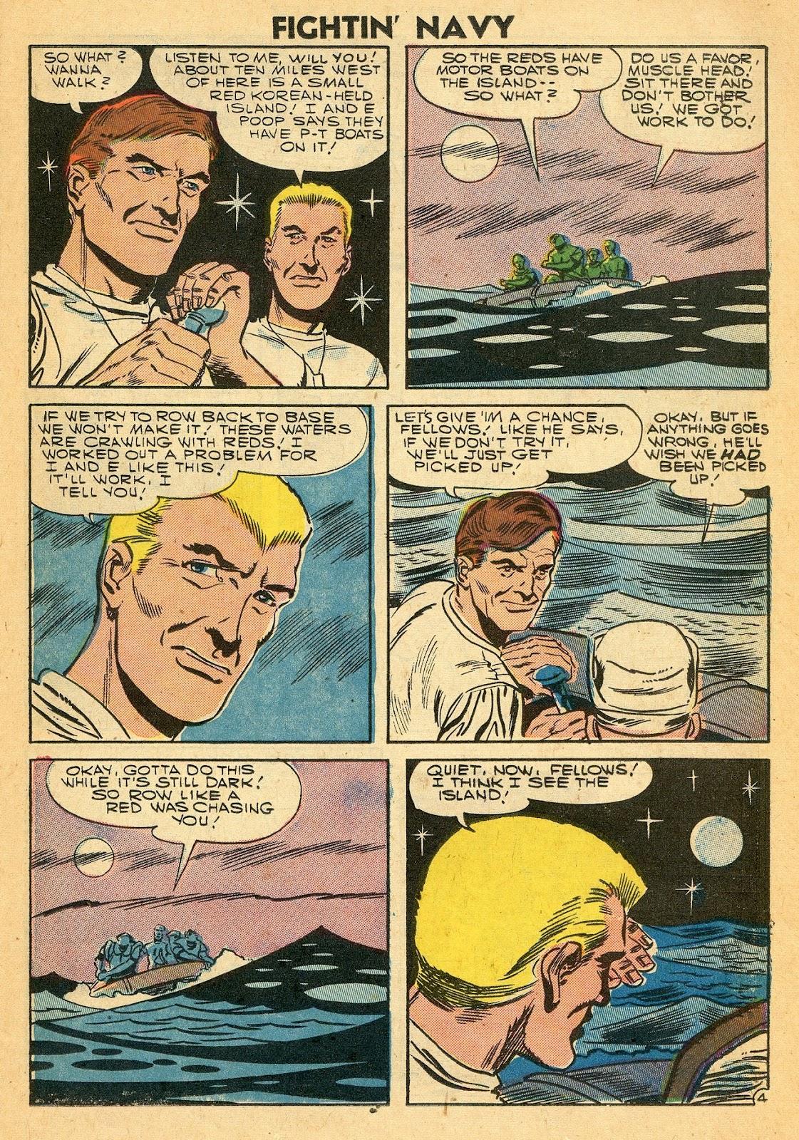 Read online Fightin' Navy comic -  Issue #77 - 23