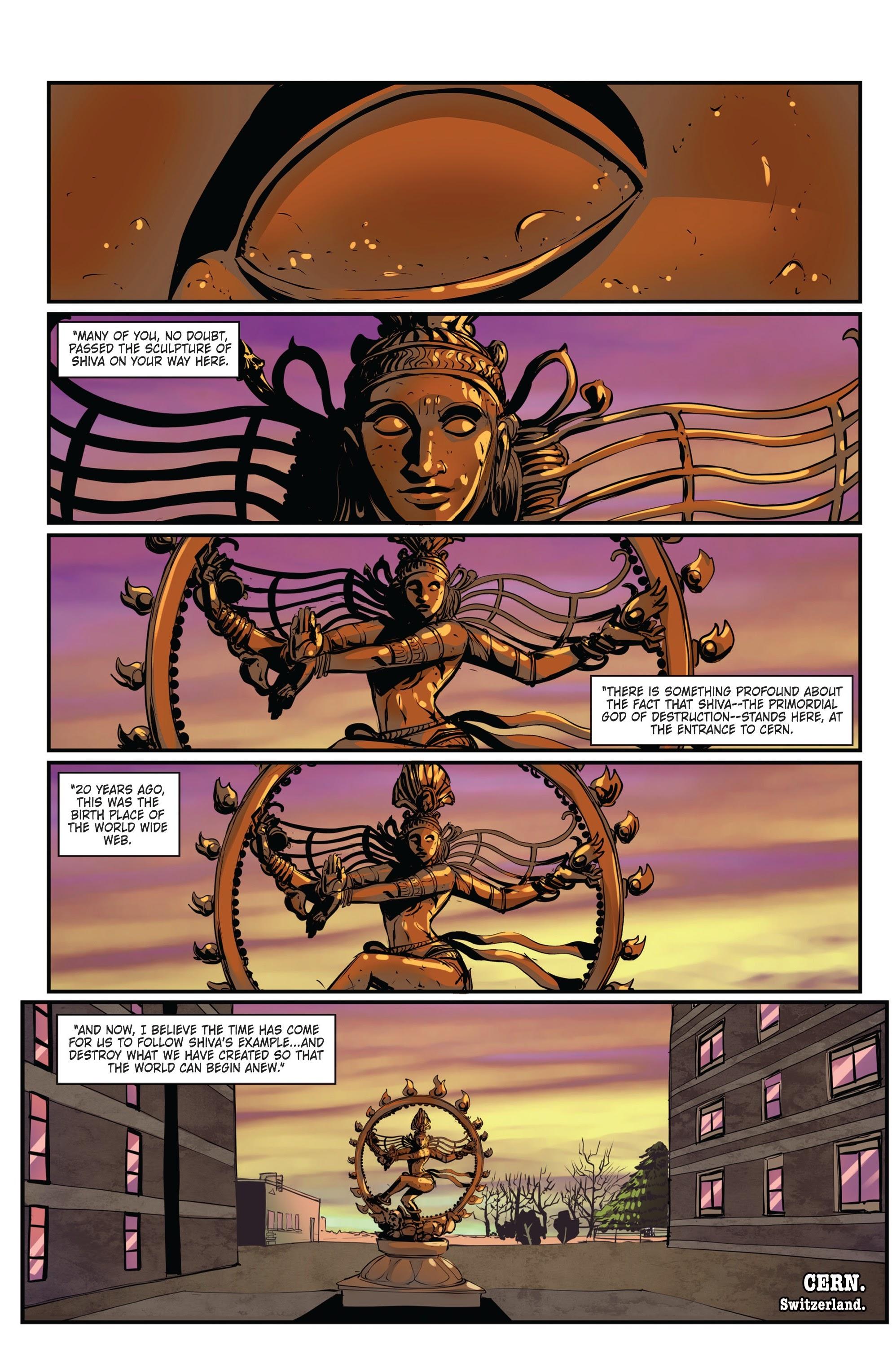 Conspiracy #4 #4 - English 3