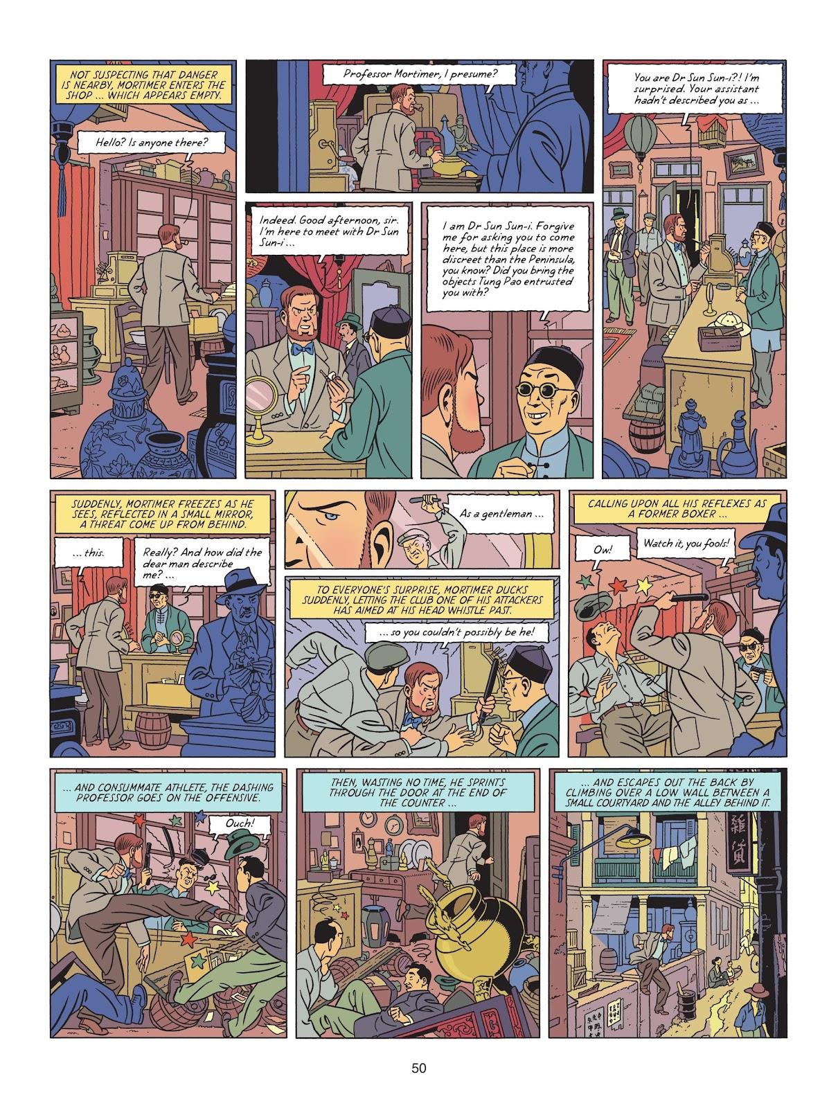 Read online Blake & Mortimer comic -  Issue #25 - 52