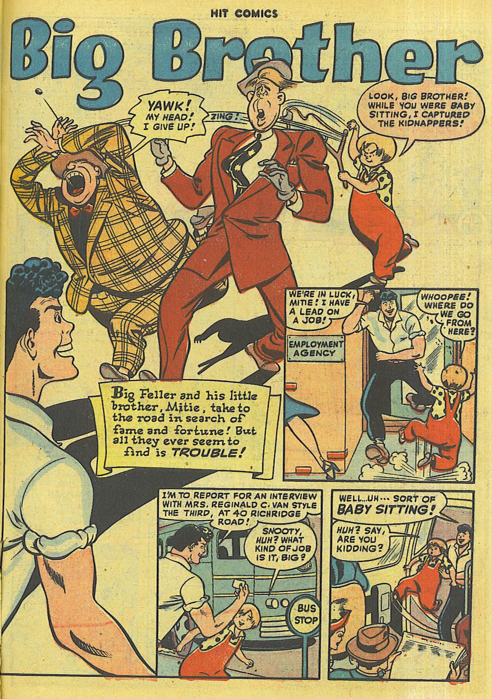 Read online Hit Comics comic -  Issue #56 - 43