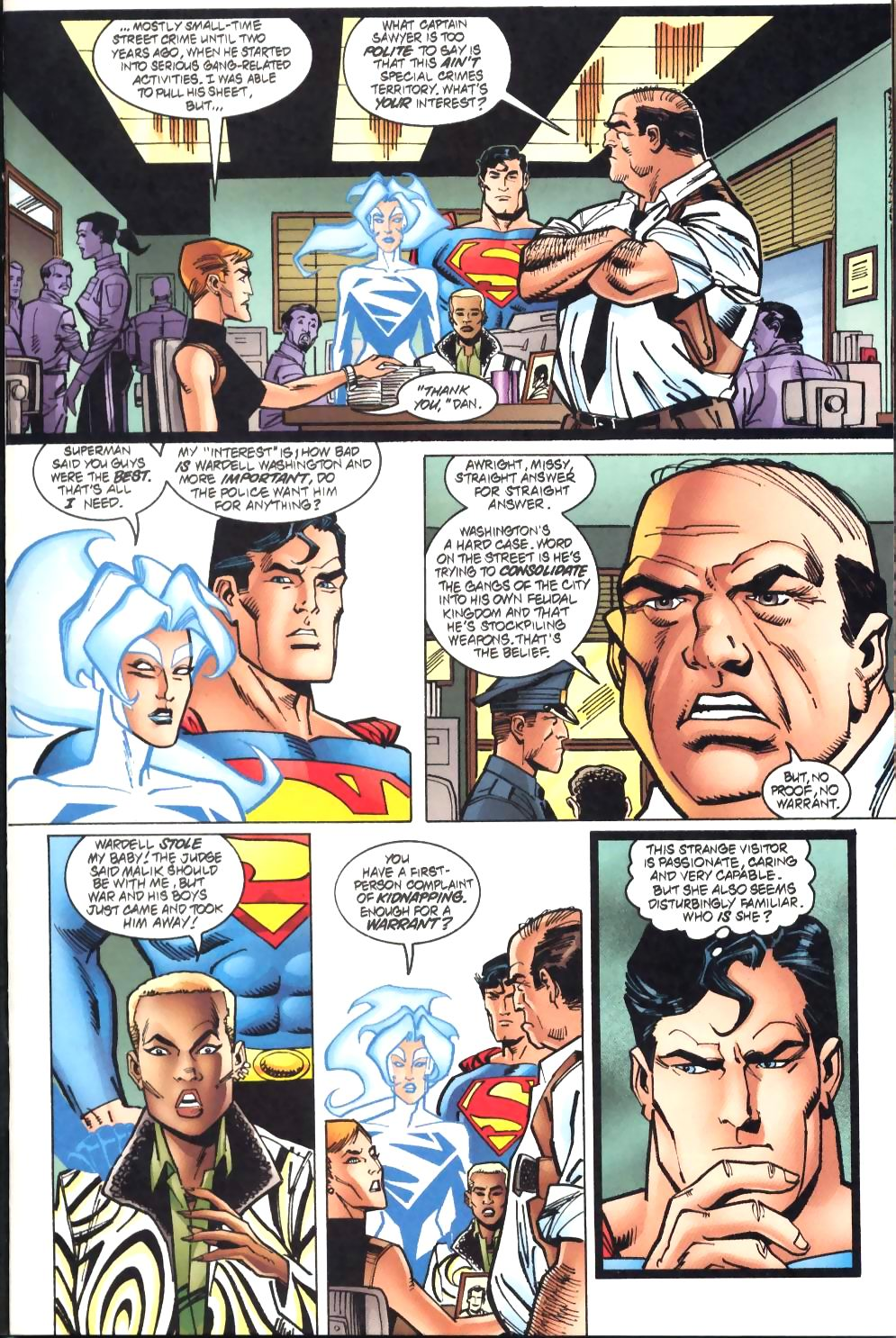 Read online Adventures of Superman (1987) comic -  Issue #572 - 8