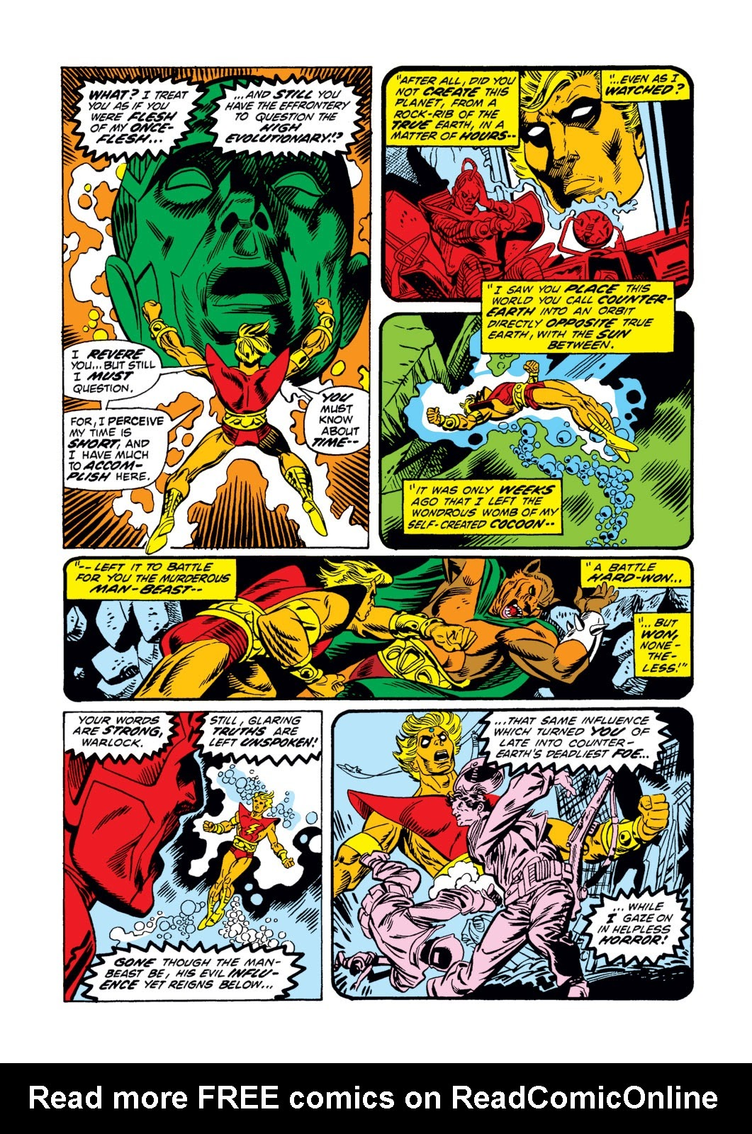 Warlock (1972) issue 3 - Page 5