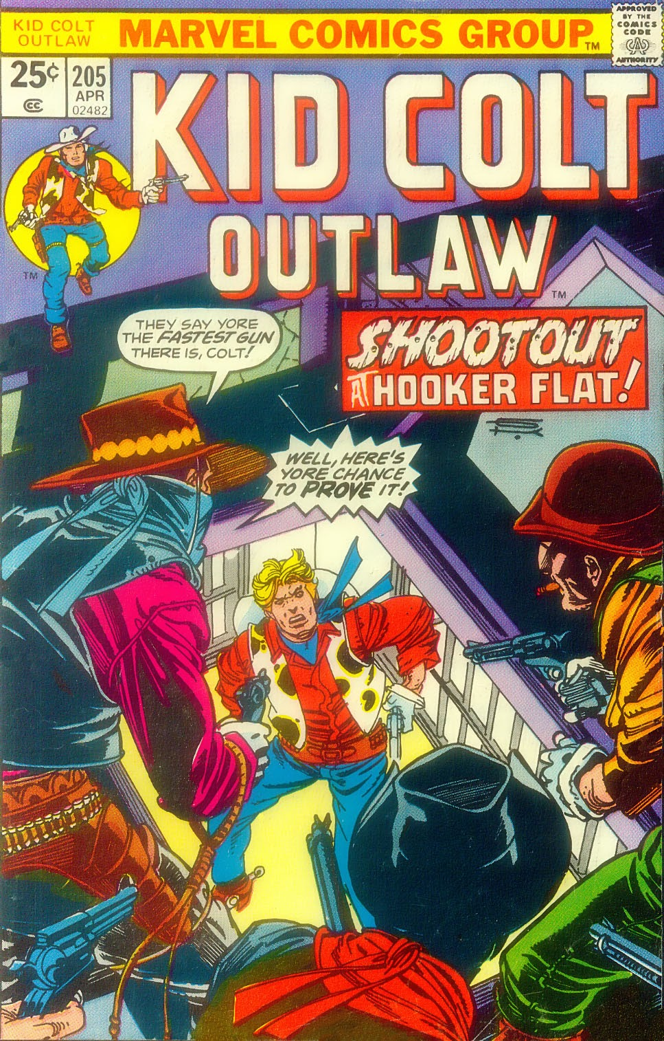 Kid Colt Outlaw issue 205 - Page 1
