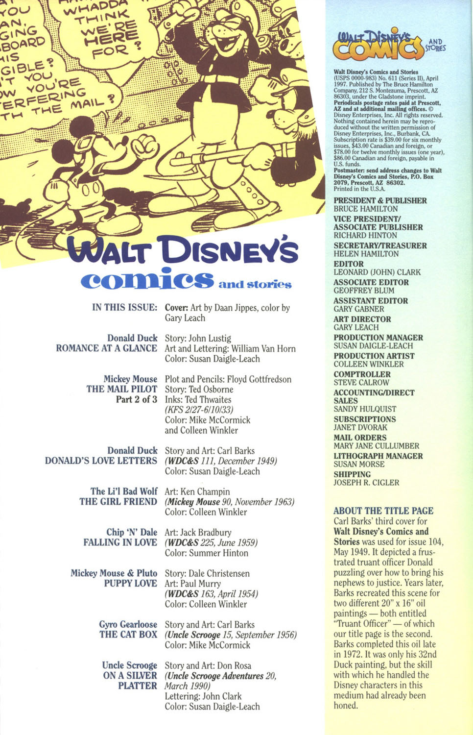 Walt Disney's Comics and Stories issue 611 - Page 4