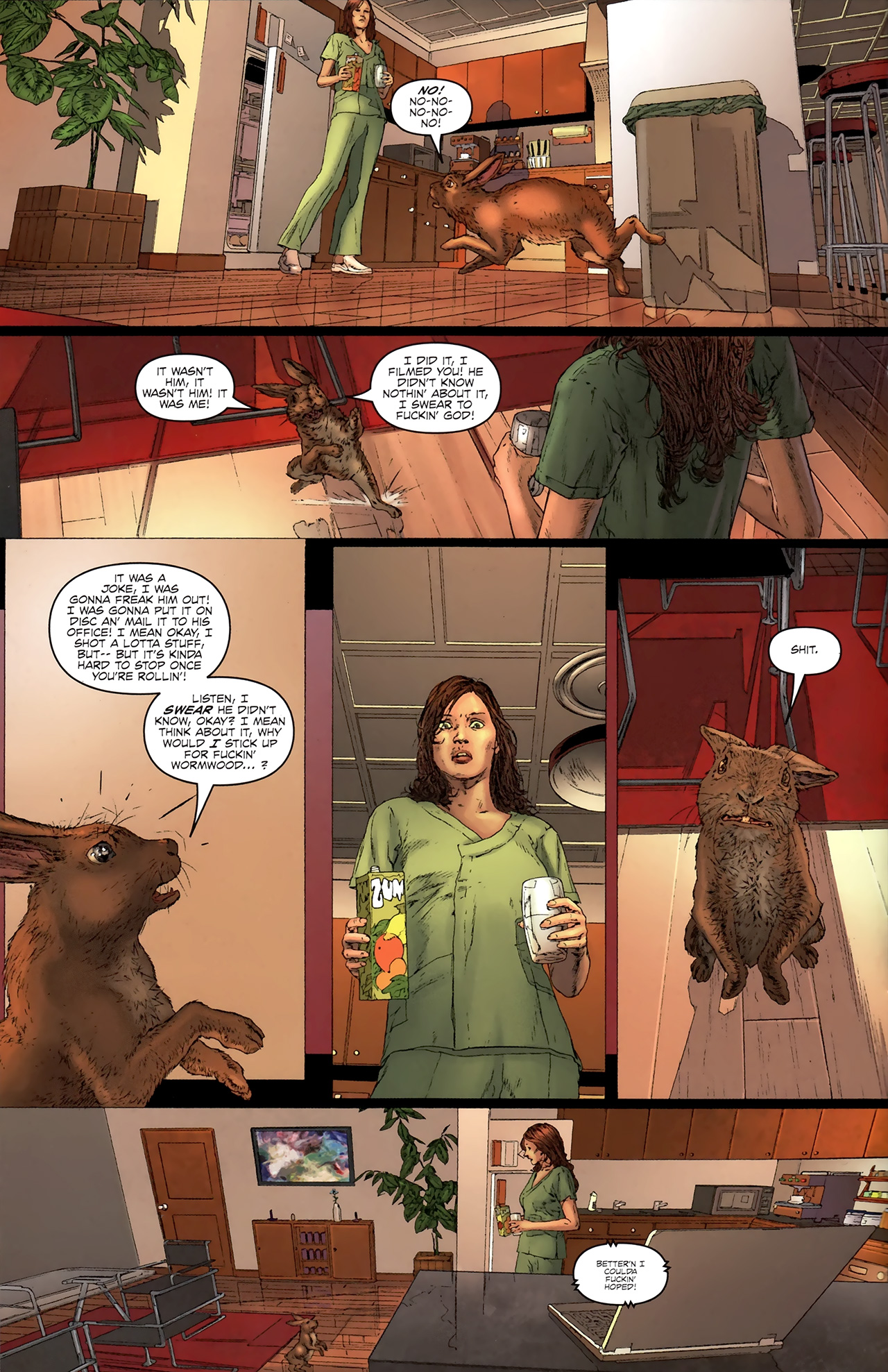 Read online Chronicles of Wormwood: The Last Battle comic -  Issue #3 - 13
