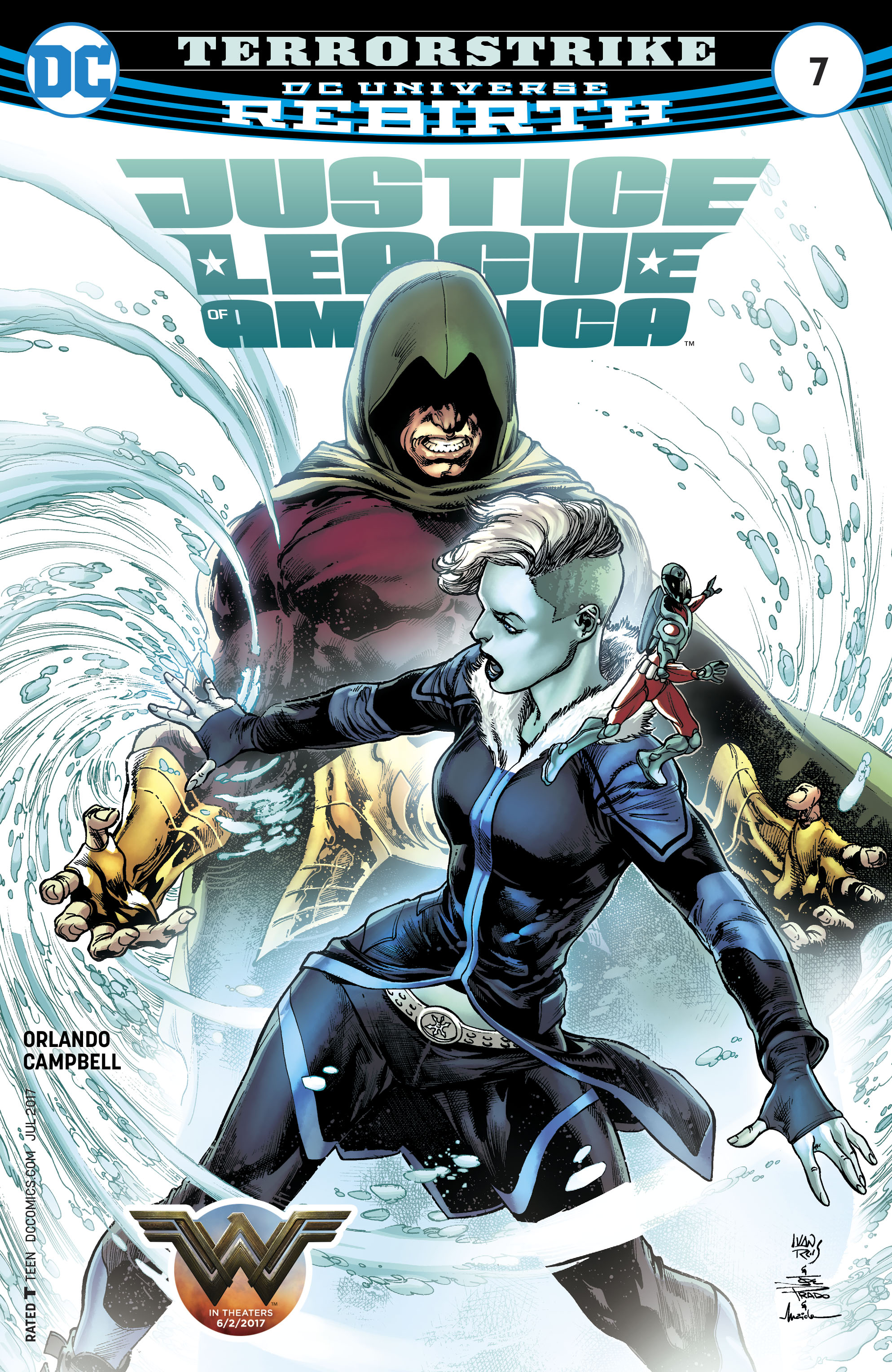 Read online Justice League of America (2017) comic -  Issue #7 - 1