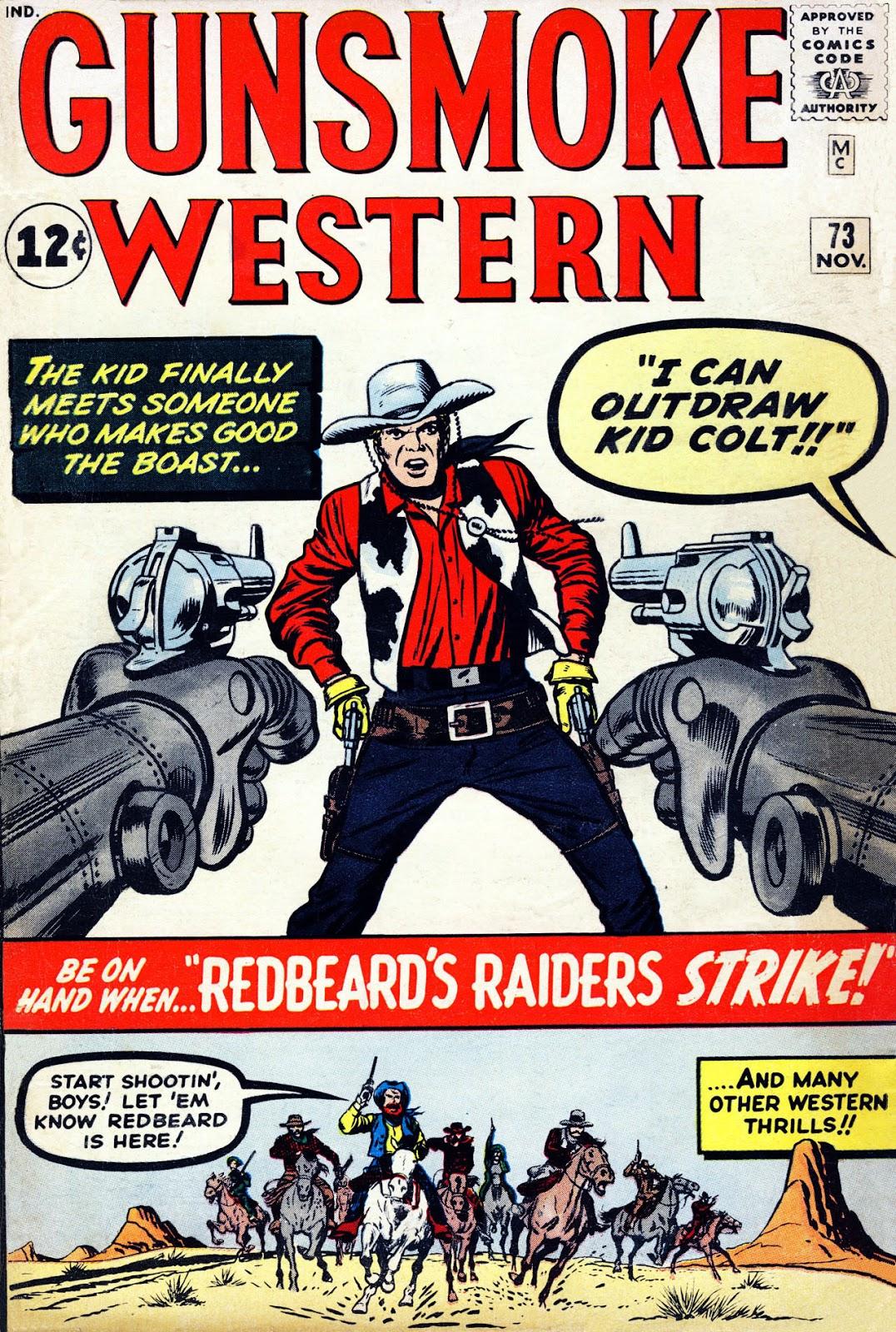 Gunsmoke Western issue 73 - Page 1