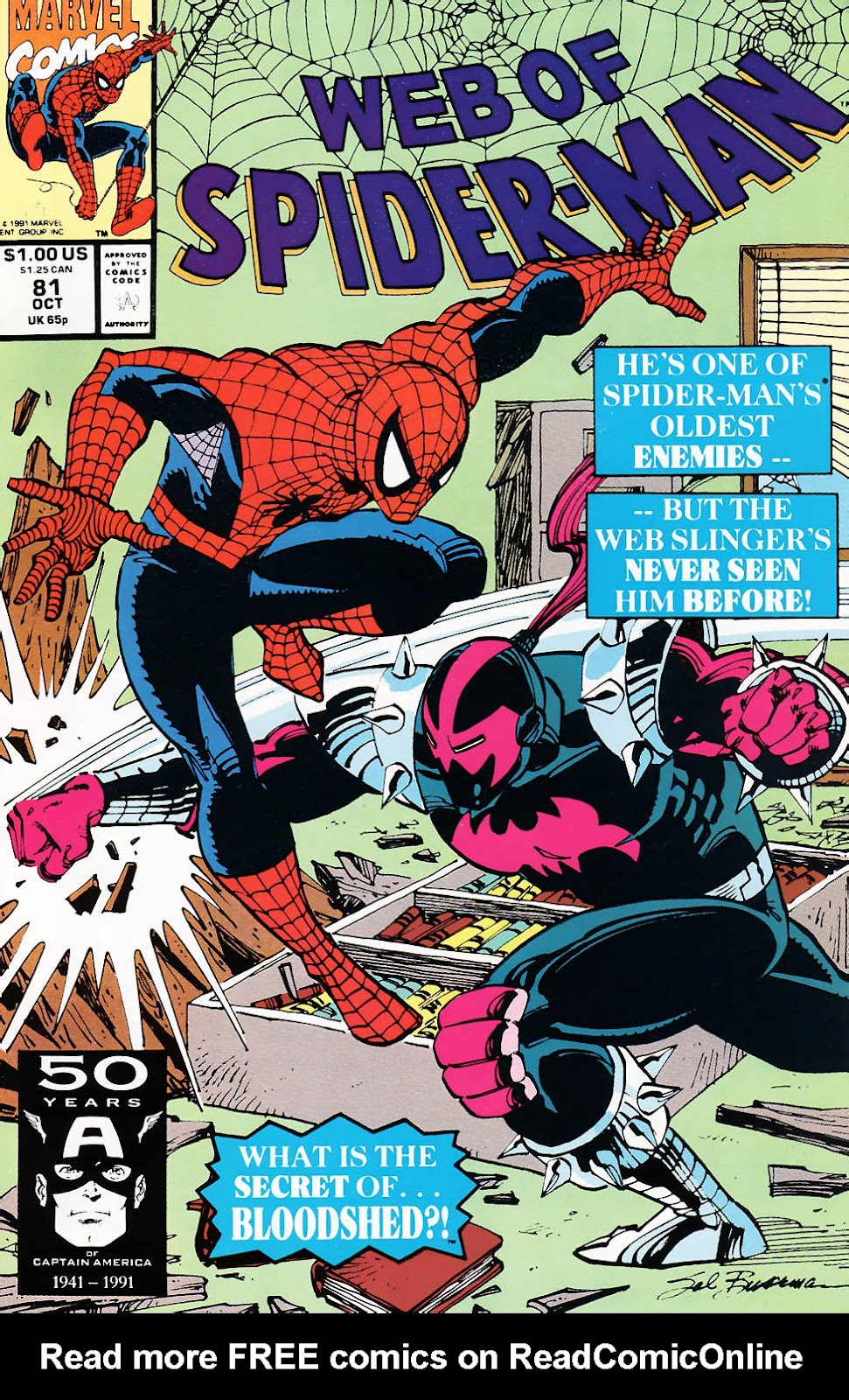 Web of Spider-Man (1985) 81 Page 1