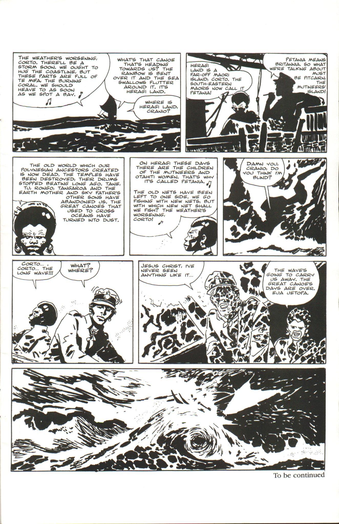 Read online Corto Maltese: Ballad of the Salt Sea comic -  Issue #1 - 27