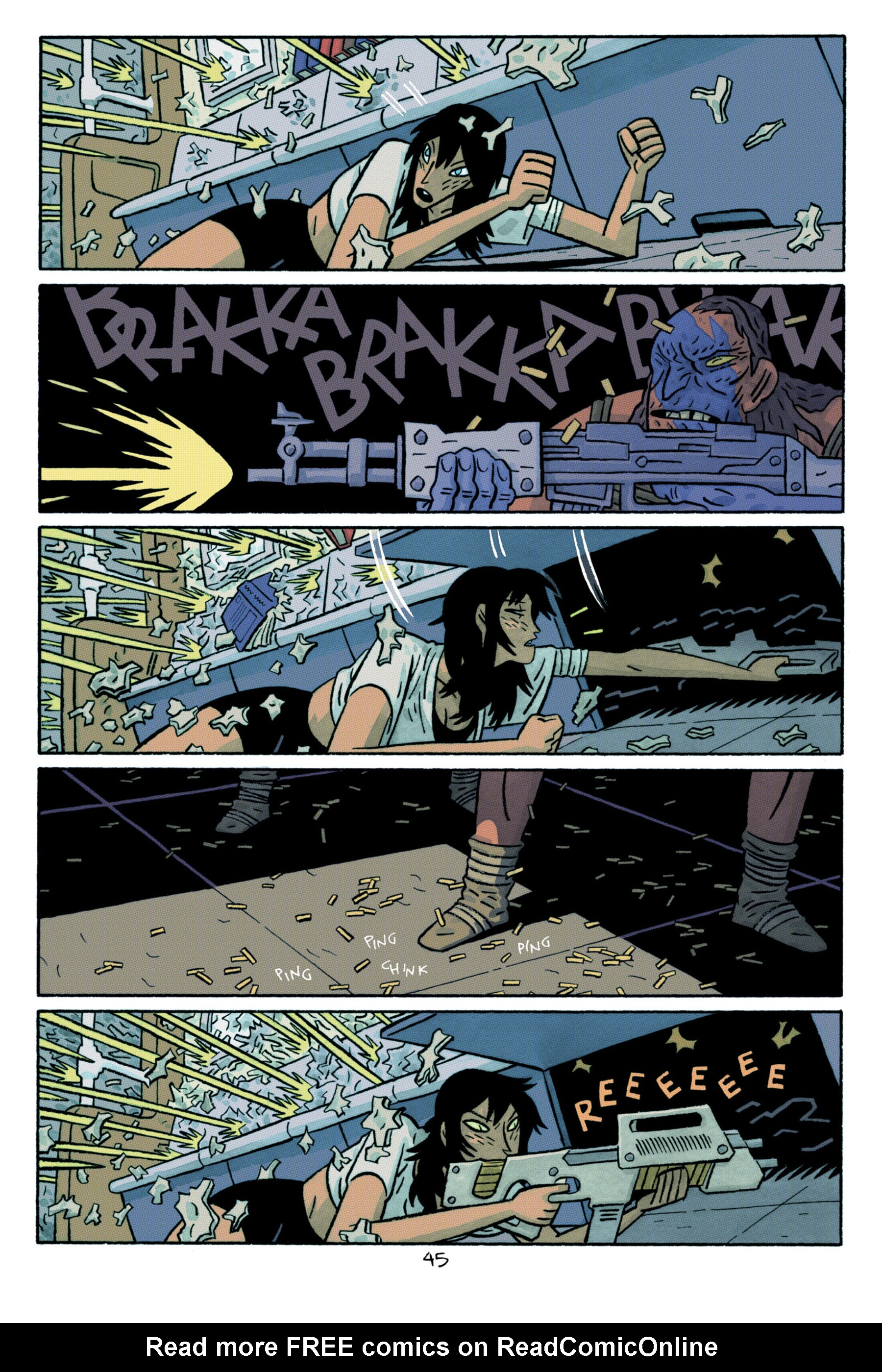 Read online ApocalyptiGirl: An Aria for the End Times comic -  Issue #ApocalyptiGirl: An Aria for the End Times Full - 53