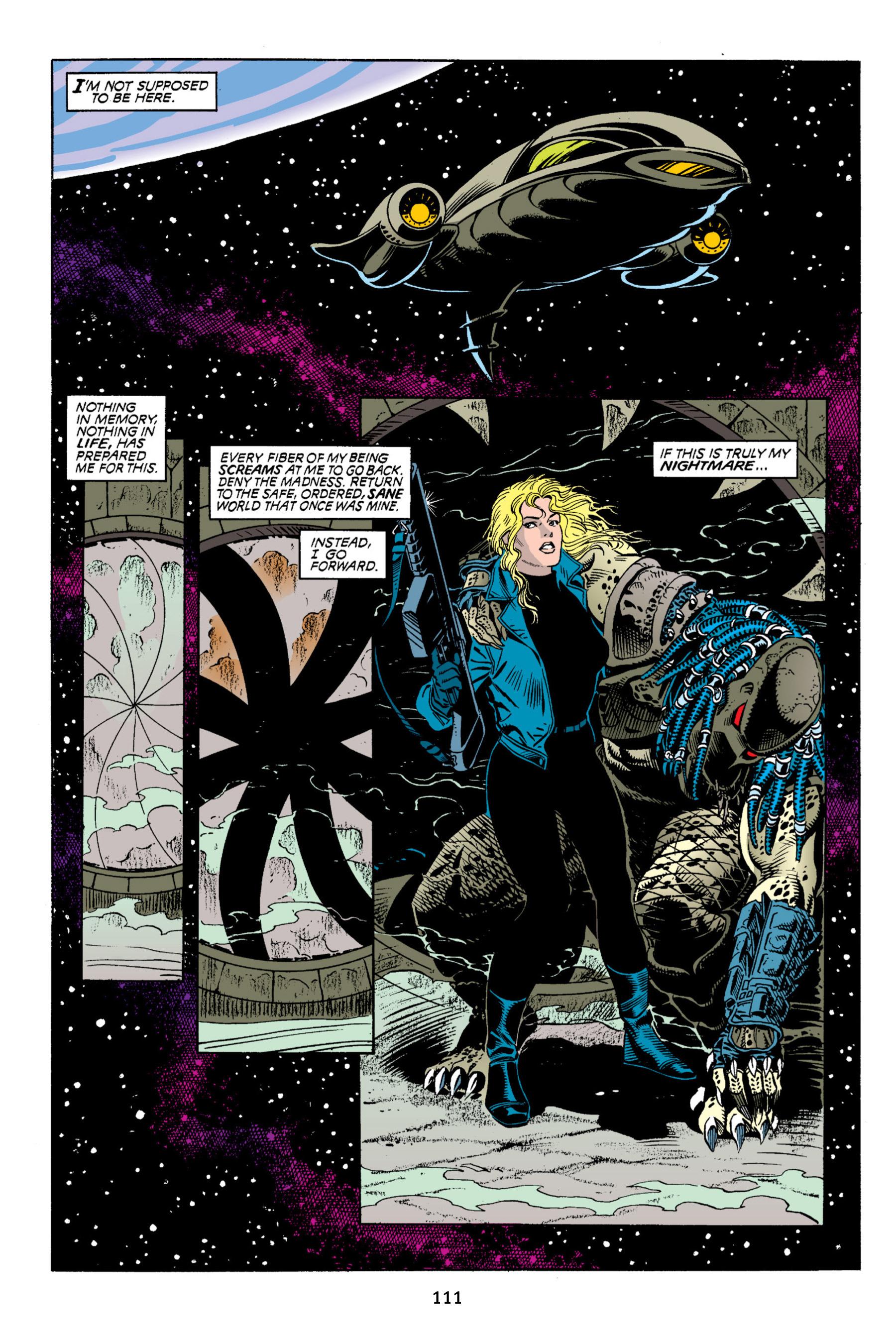 Read online Aliens vs. Predator Omnibus comic -  Issue # _TPB 2 Part 1 - 110