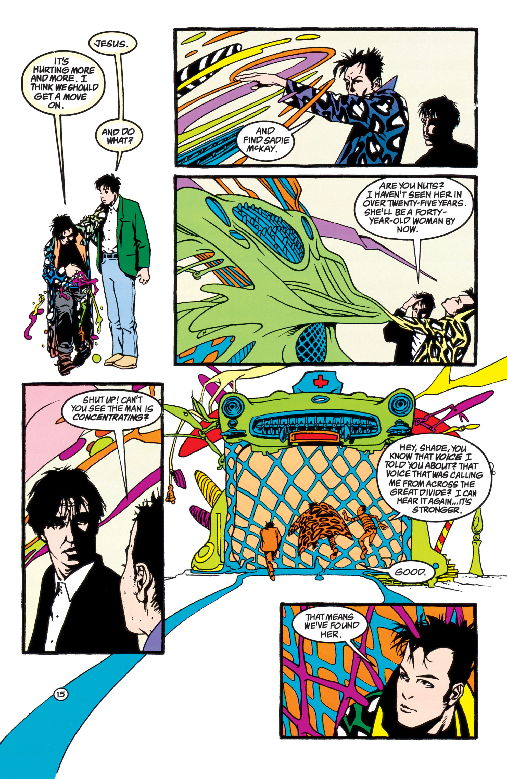 Read online Shade, the Changing Man comic -  Issue #40 - 16