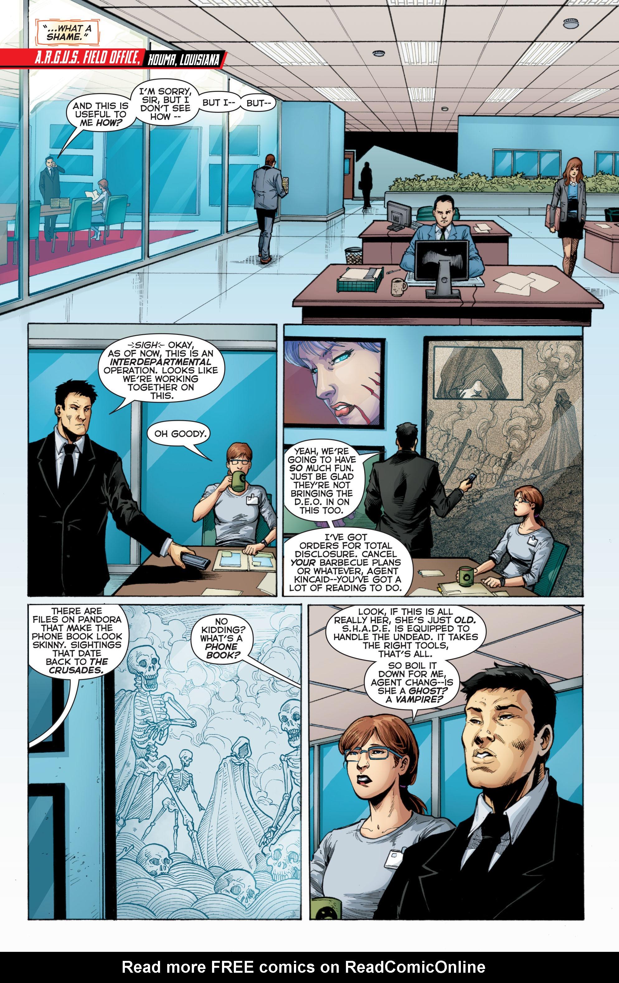 Read online Trinity of Sin: Pandora comic -  Issue #2 - 20