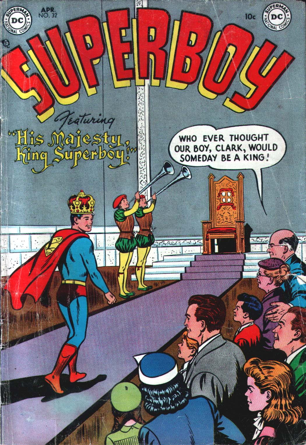 Superboy (1949) issue 32 - Page 1