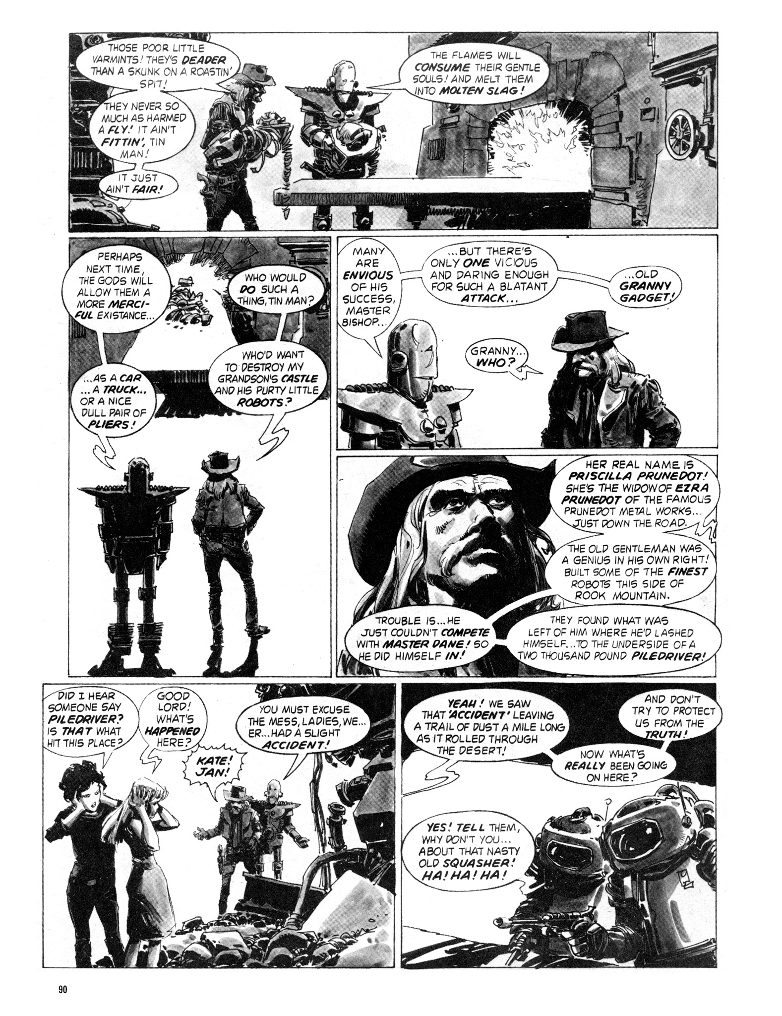 Read online Eerie Archives comic -  Issue # TPB 18 - 91