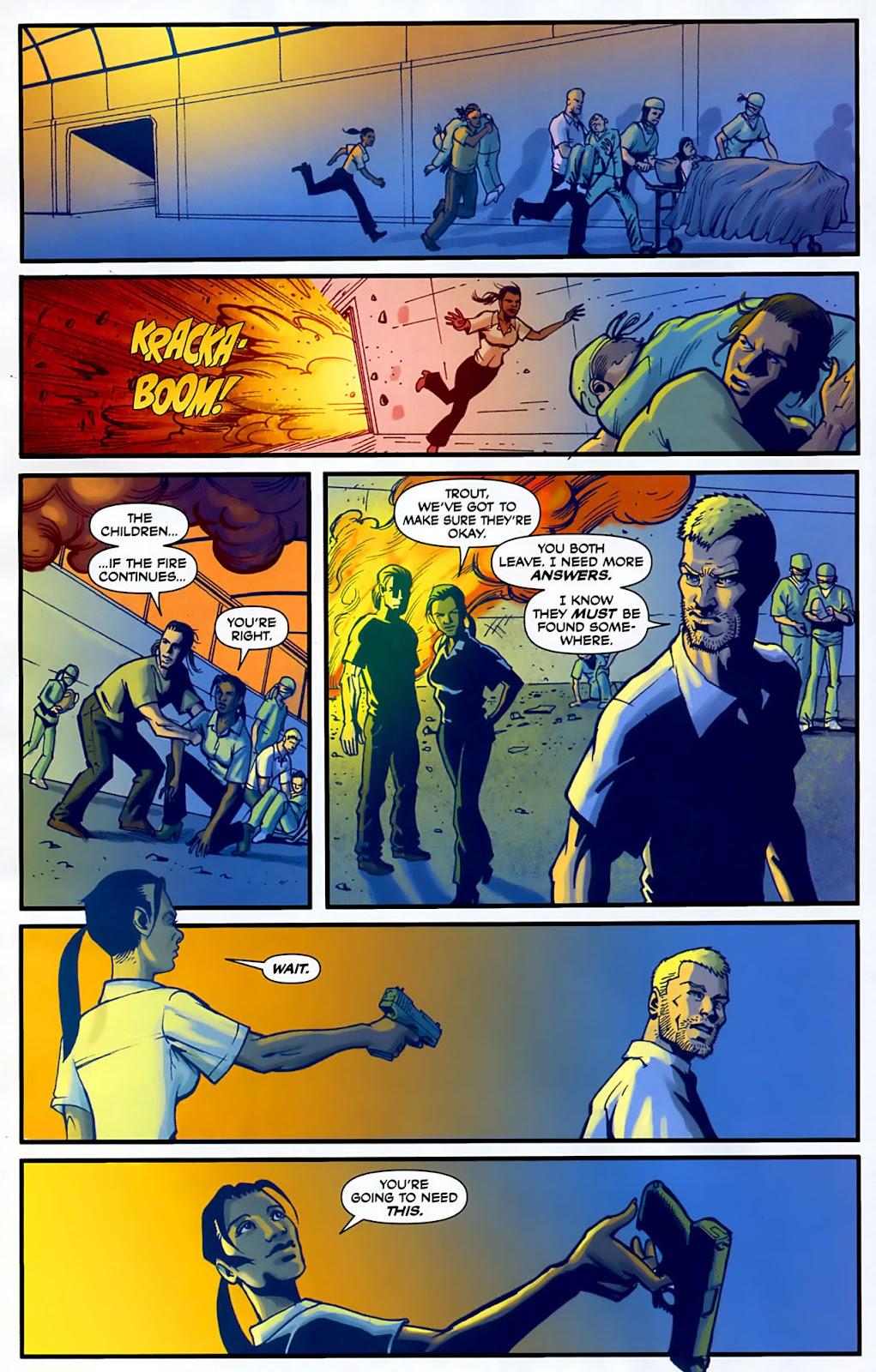 Read online Lazarus (2007) comic -  Issue #3 - 12