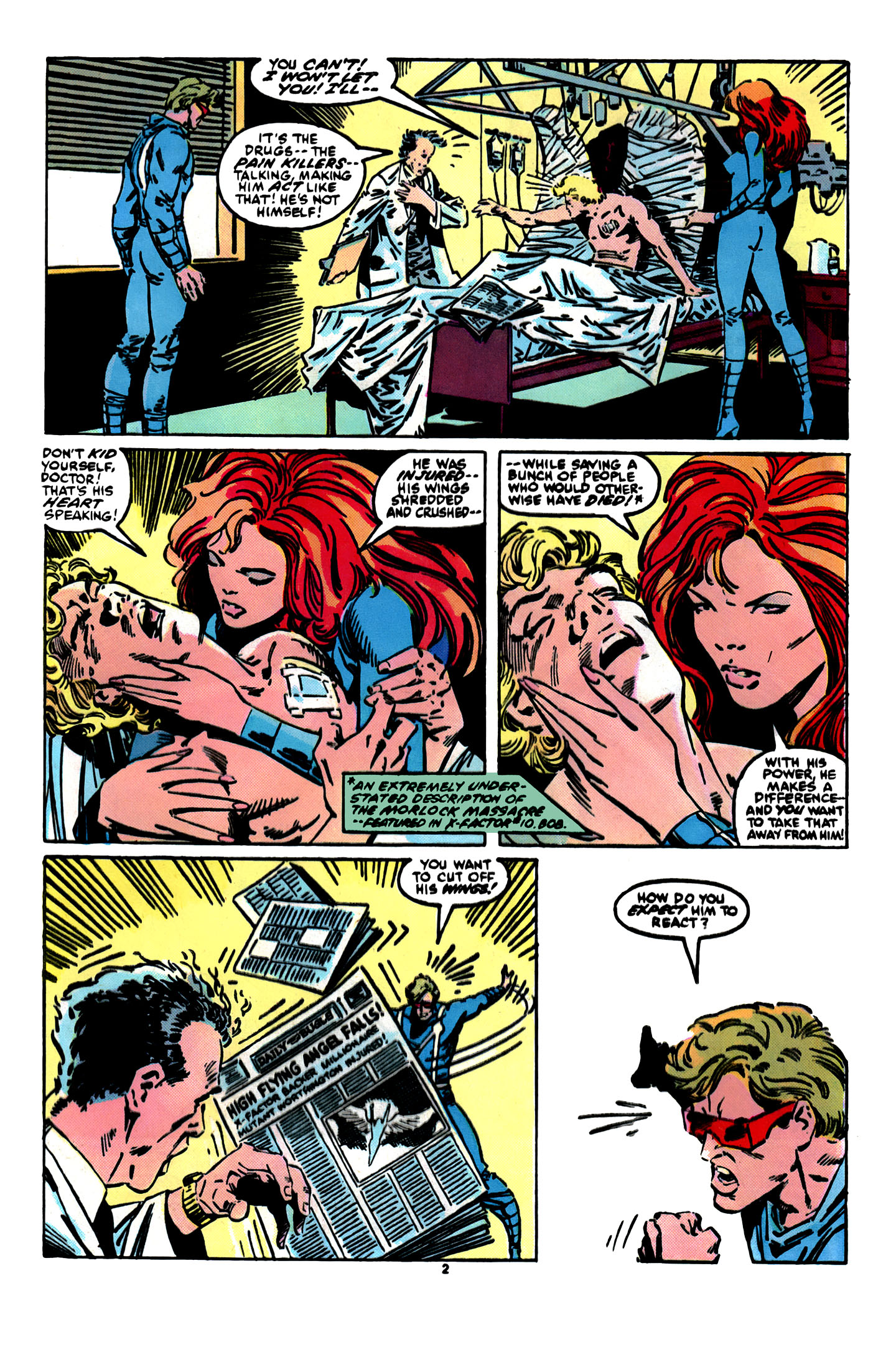 Read online X-Factor (1986) comic -  Issue #12 - 3