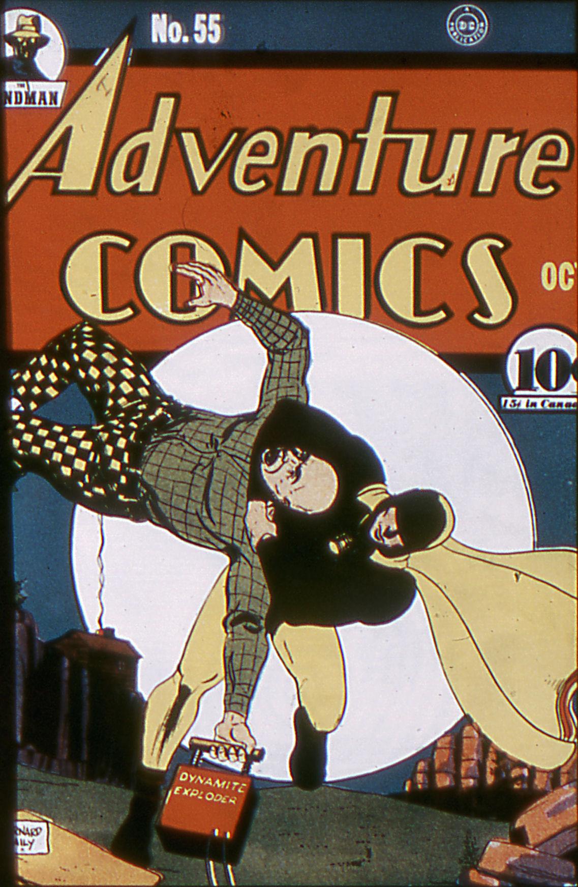 Read online Adventure Comics (1938) comic -  Issue #55 - 1
