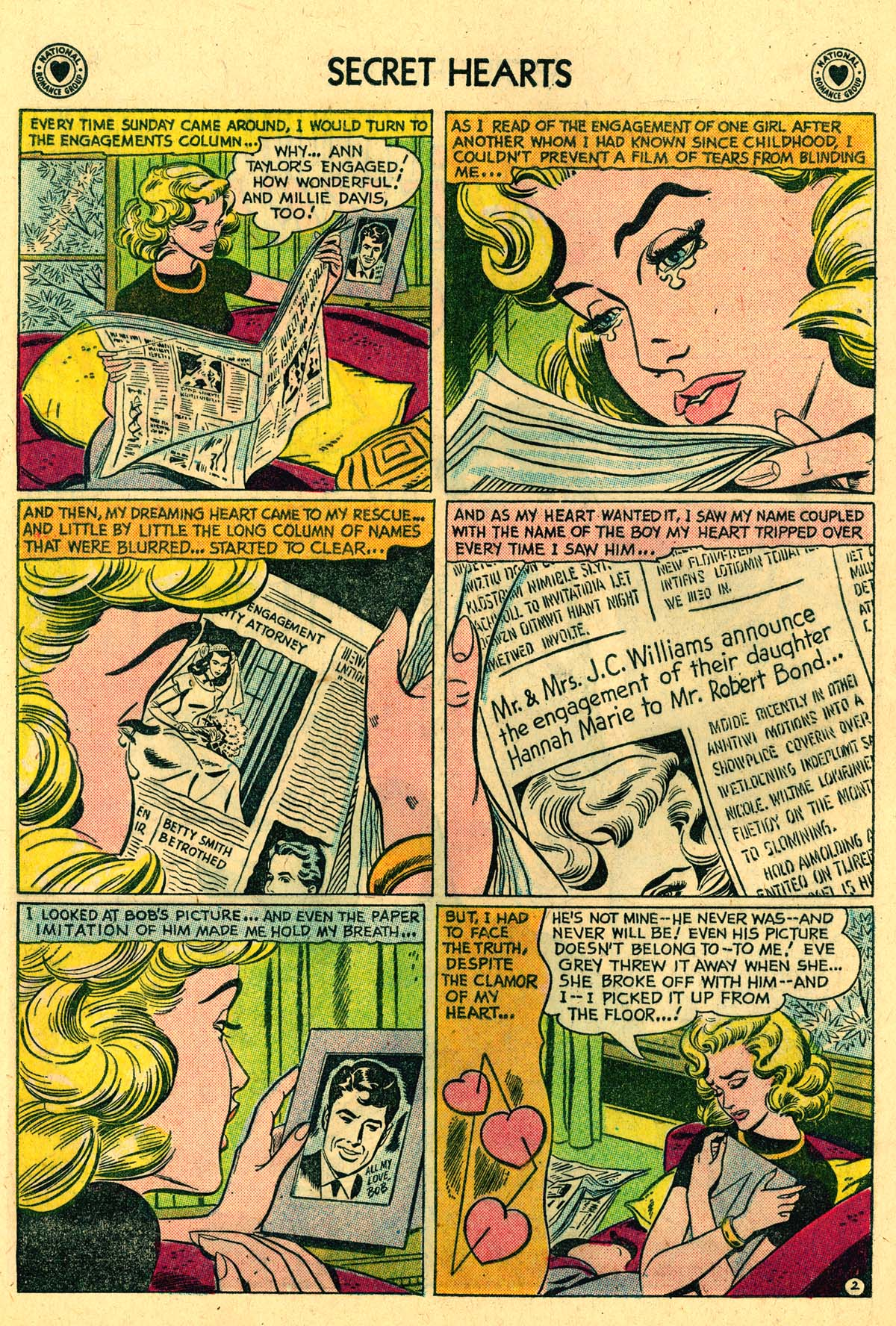 Read online Secret Hearts comic -  Issue #57 - 28
